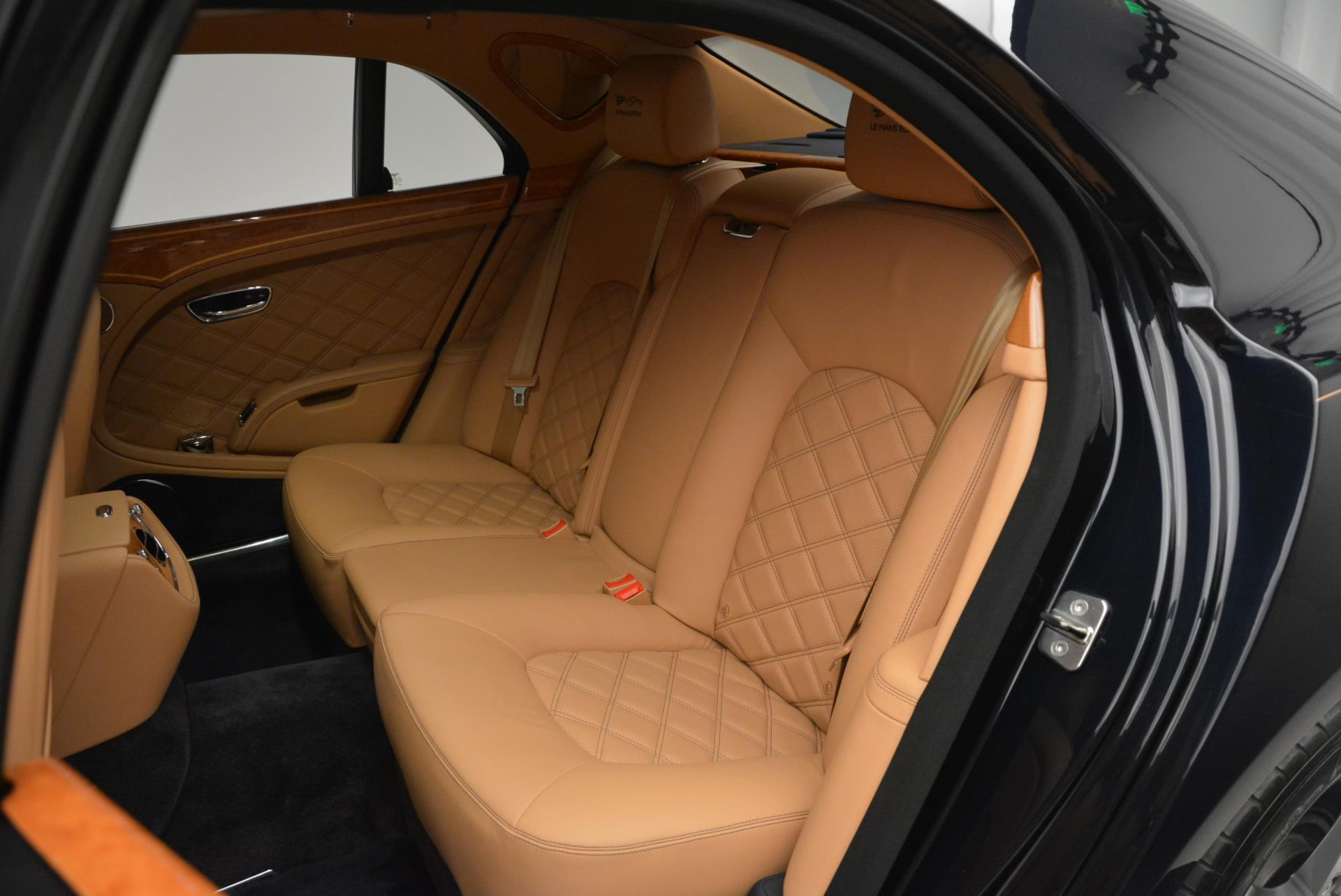 Used 2013 Bentley Mulsanne Le Mans Edition- Number 1 of 48 For Sale In Westport, CT 40_p24