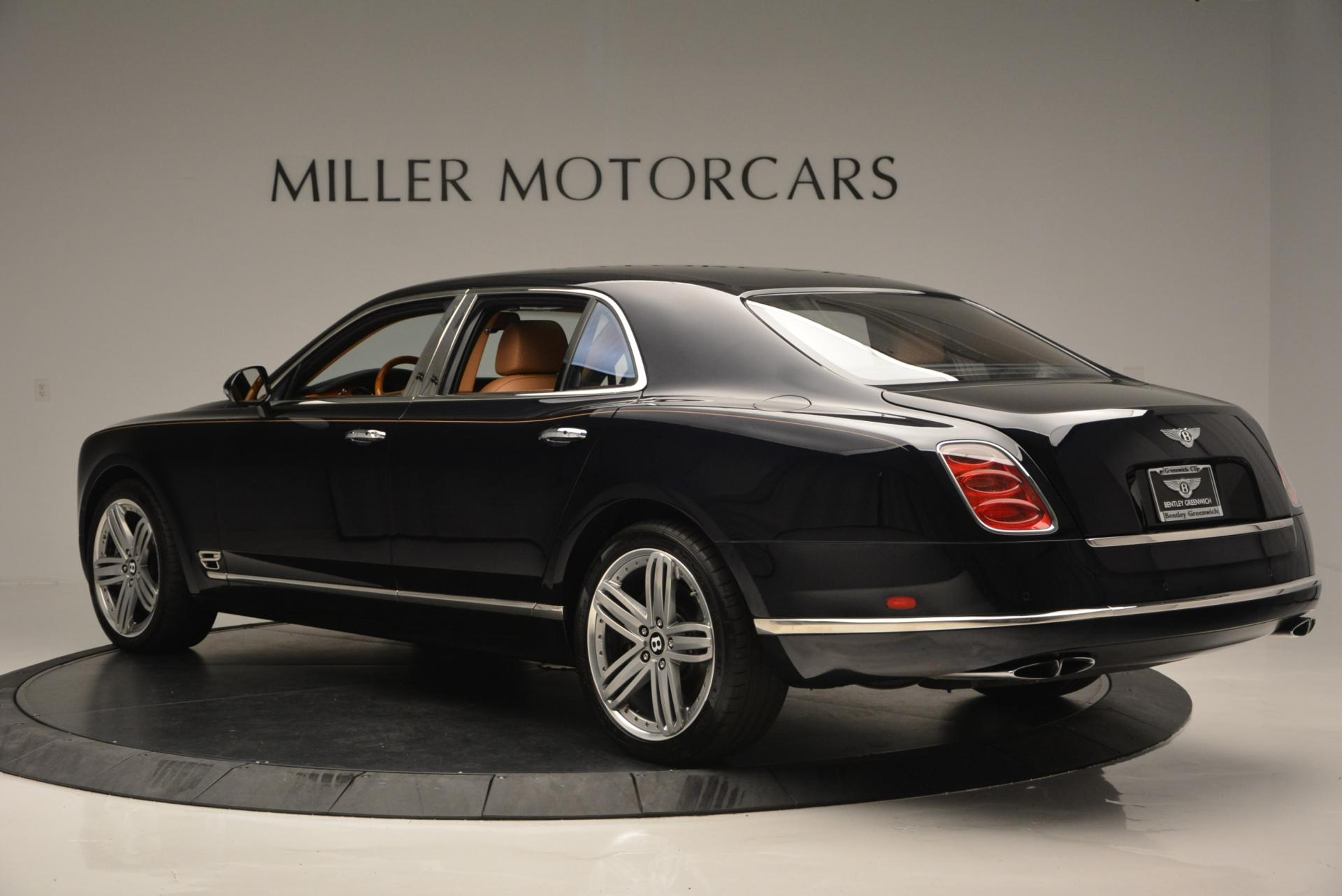 Used 2013 Bentley Mulsanne Le Mans Edition- Number 1 of 48 For Sale In Westport, CT 40_p4