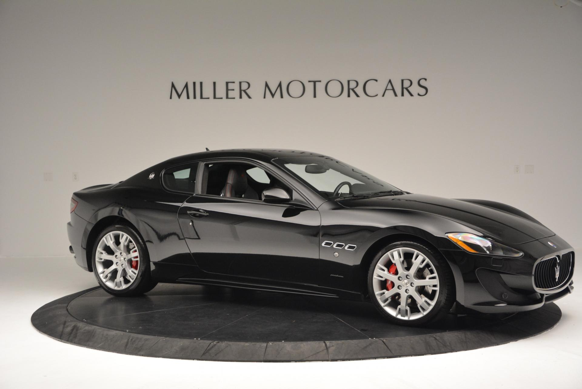 Used 2013 Maserati GranTurismo Sport For Sale In Westport, CT 46_p10