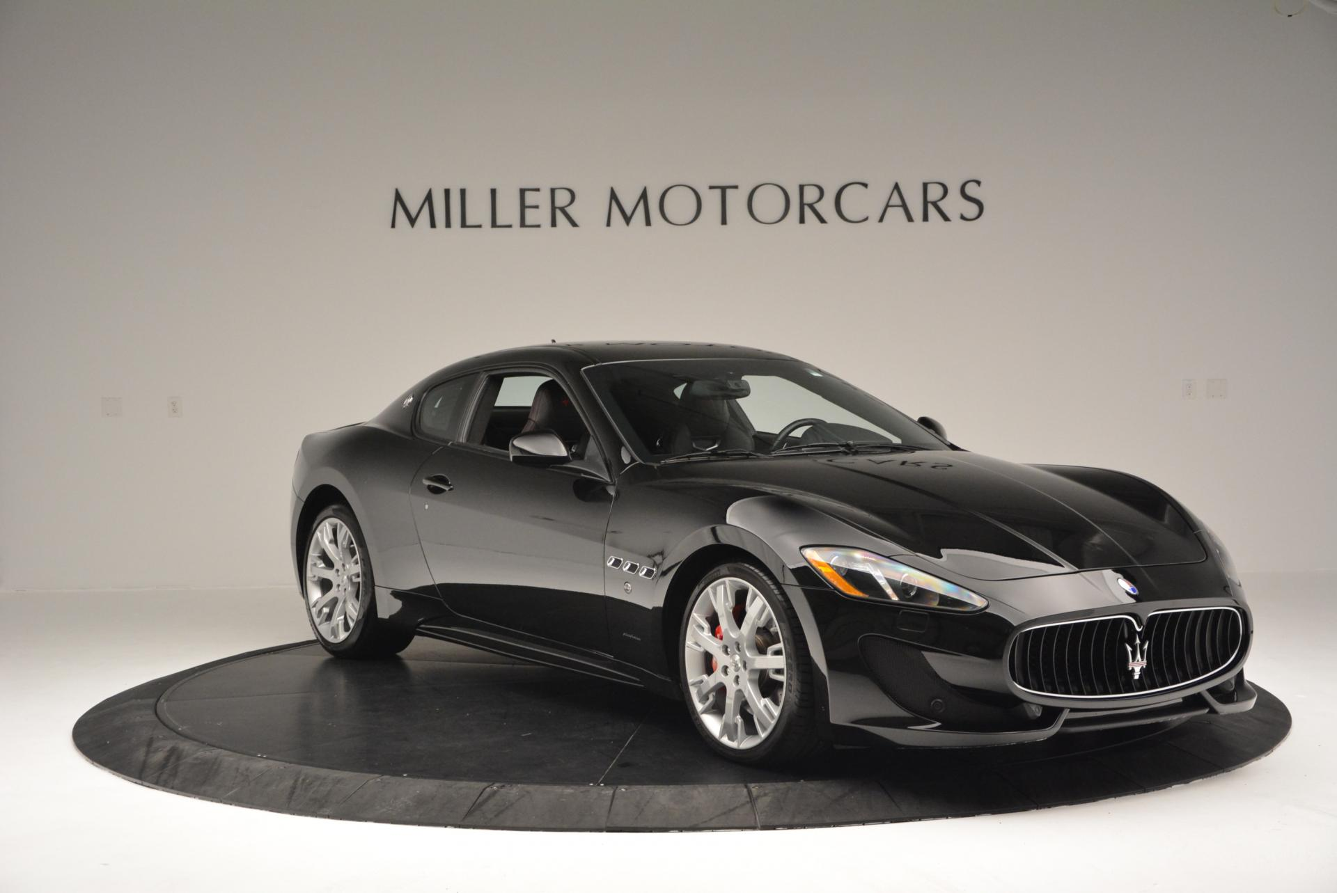 Used 2013 Maserati GranTurismo Sport For Sale In Westport, CT 46_p11