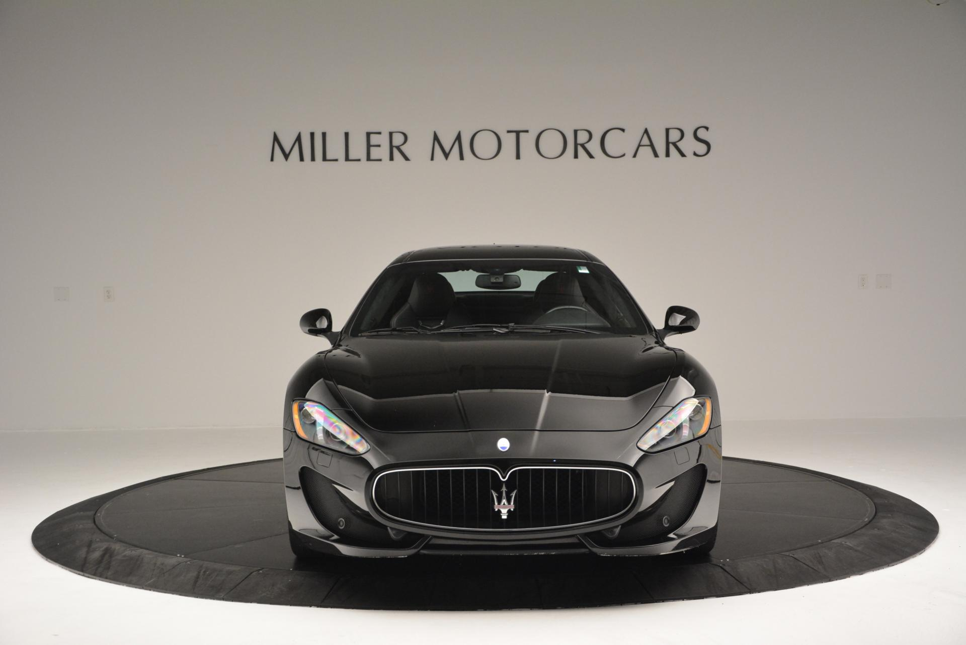 Used 2013 Maserati GranTurismo Sport For Sale In Westport, CT 46_p12