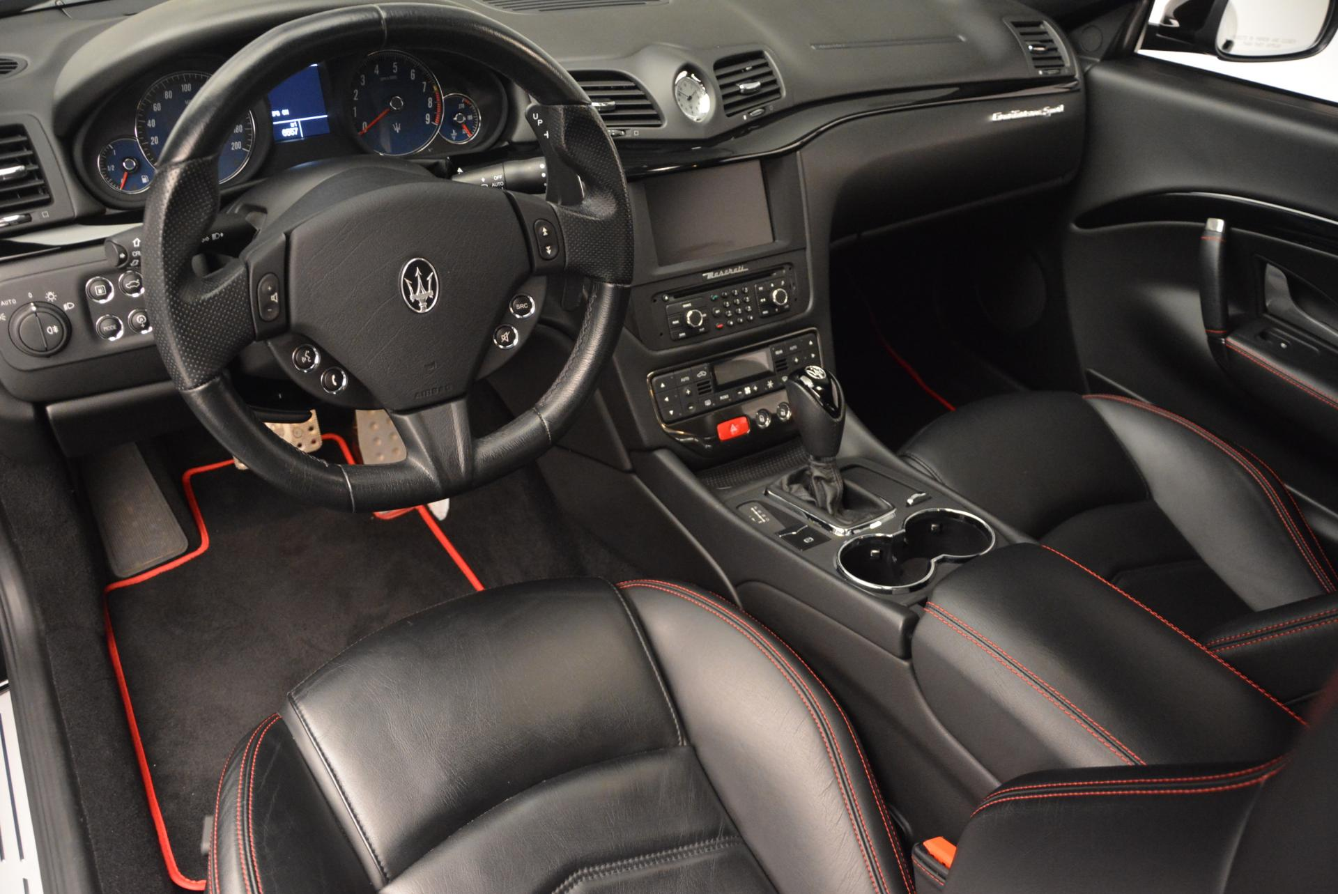 Used 2013 Maserati GranTurismo Sport For Sale In Westport, CT 46_p13