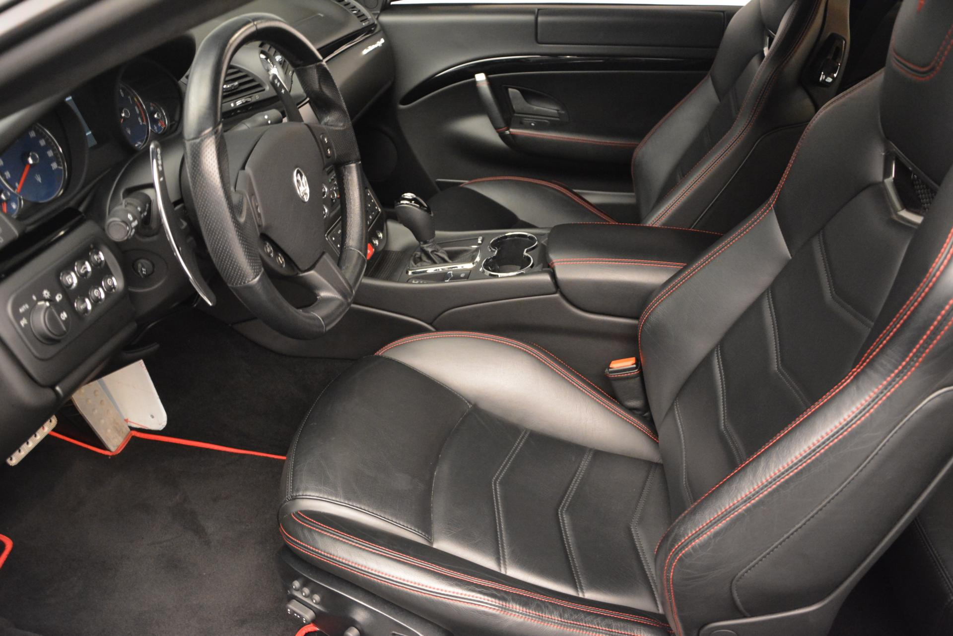 Used 2013 Maserati GranTurismo Sport For Sale In Westport, CT 46_p14