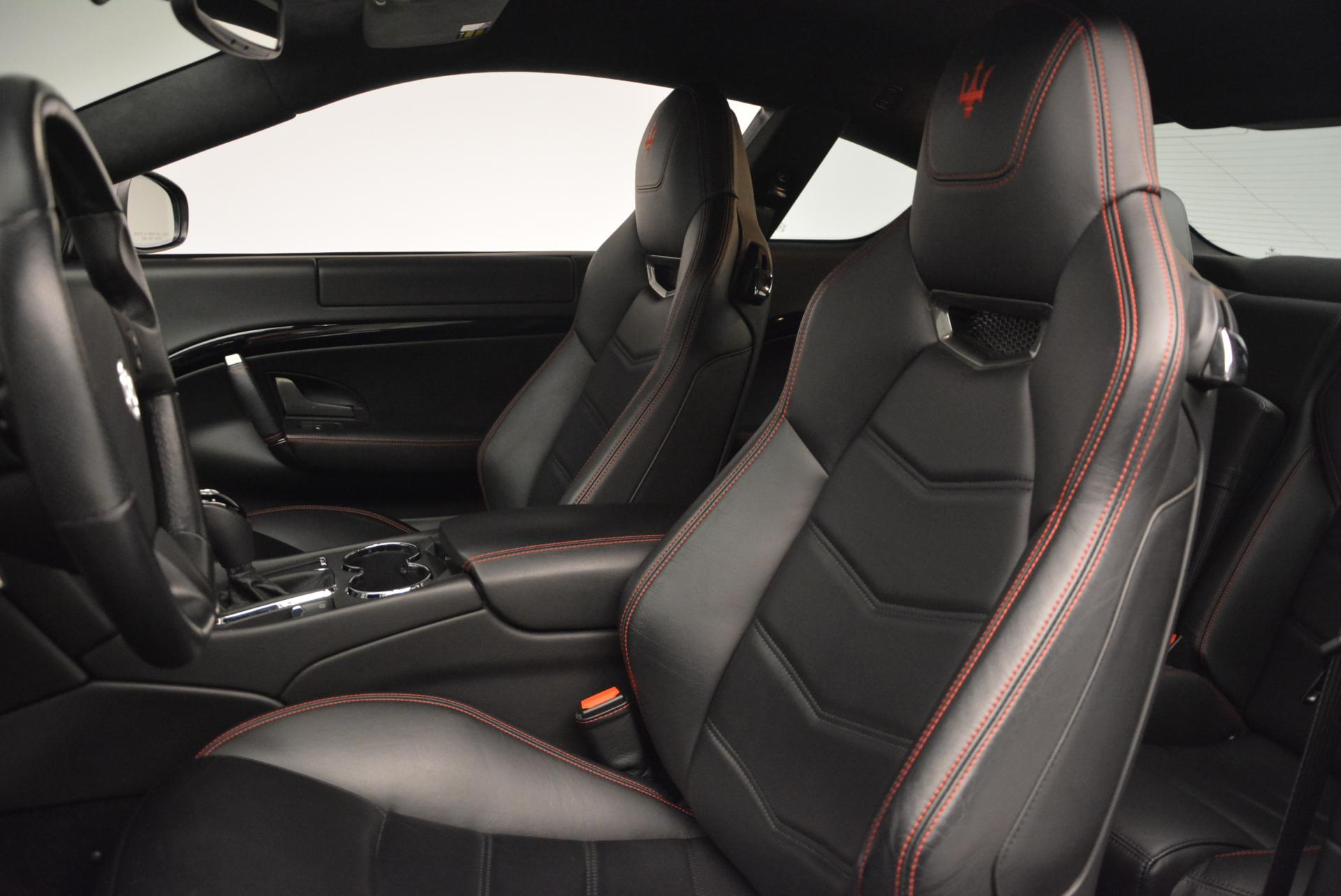 Used 2013 Maserati GranTurismo Sport For Sale In Westport, CT 46_p15