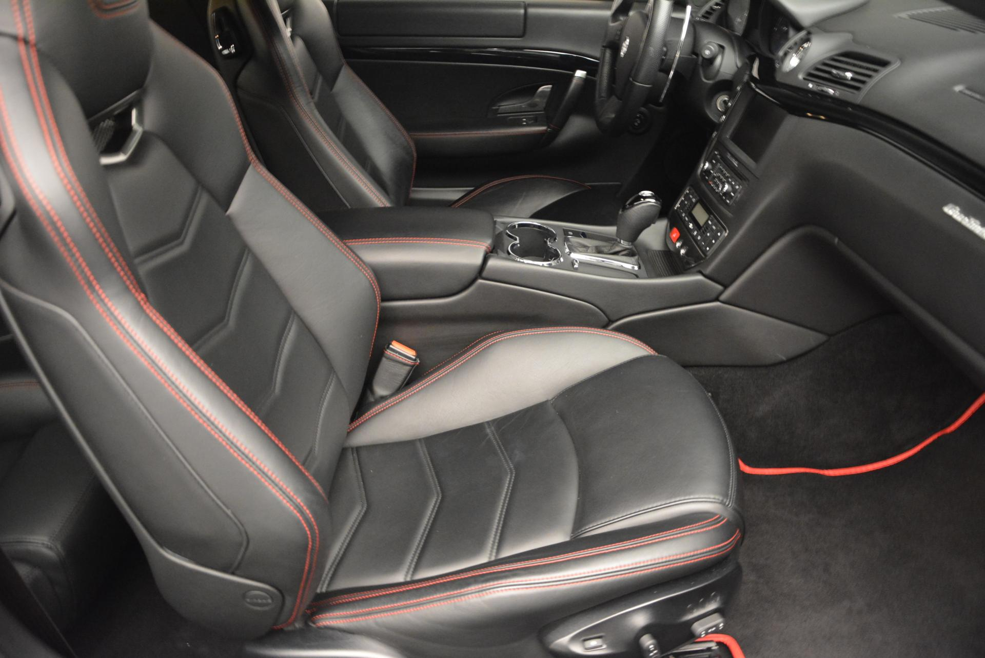 Used 2013 Maserati GranTurismo Sport For Sale In Westport, CT 46_p18