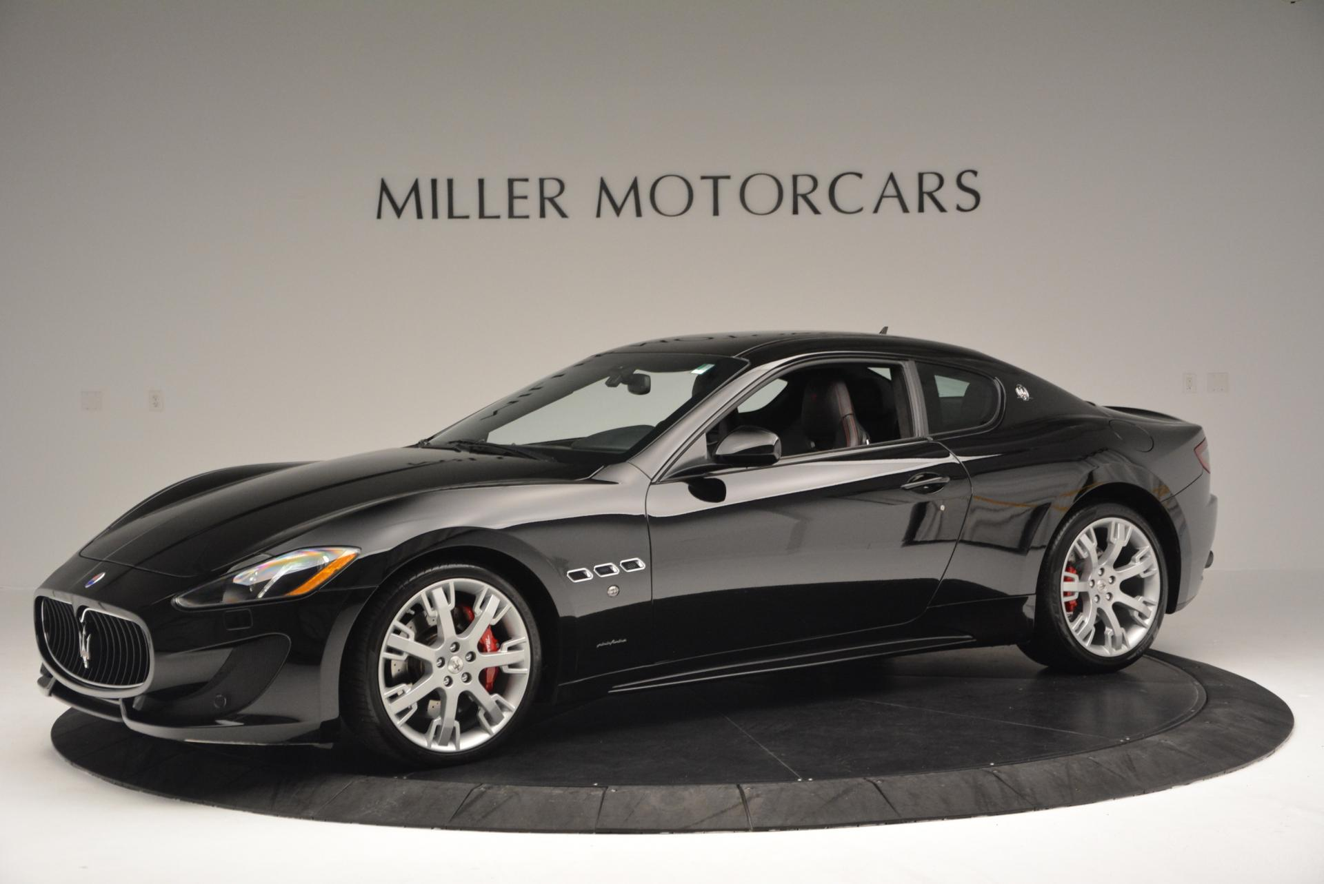 Used 2013 Maserati GranTurismo Sport For Sale In Westport, CT 46_p2
