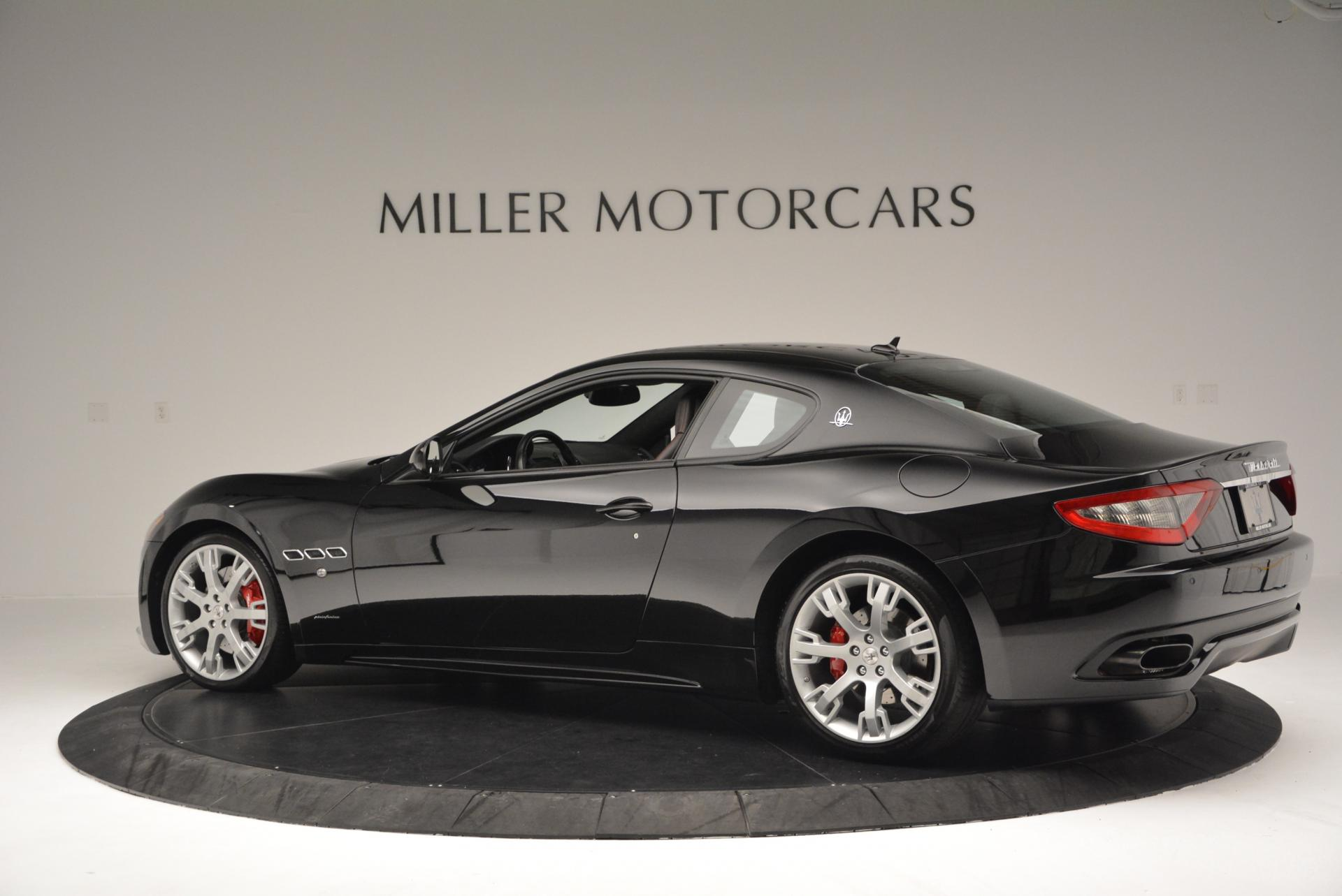 Used 2013 Maserati GranTurismo Sport For Sale In Westport, CT 46_p4