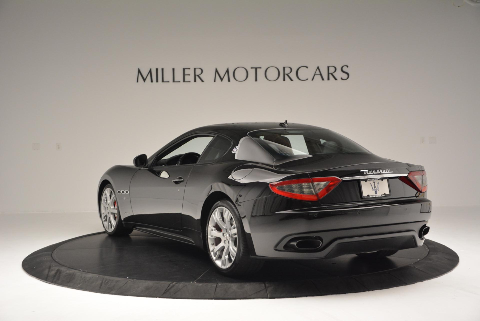 Used 2013 Maserati GranTurismo Sport For Sale In Westport, CT 46_p5