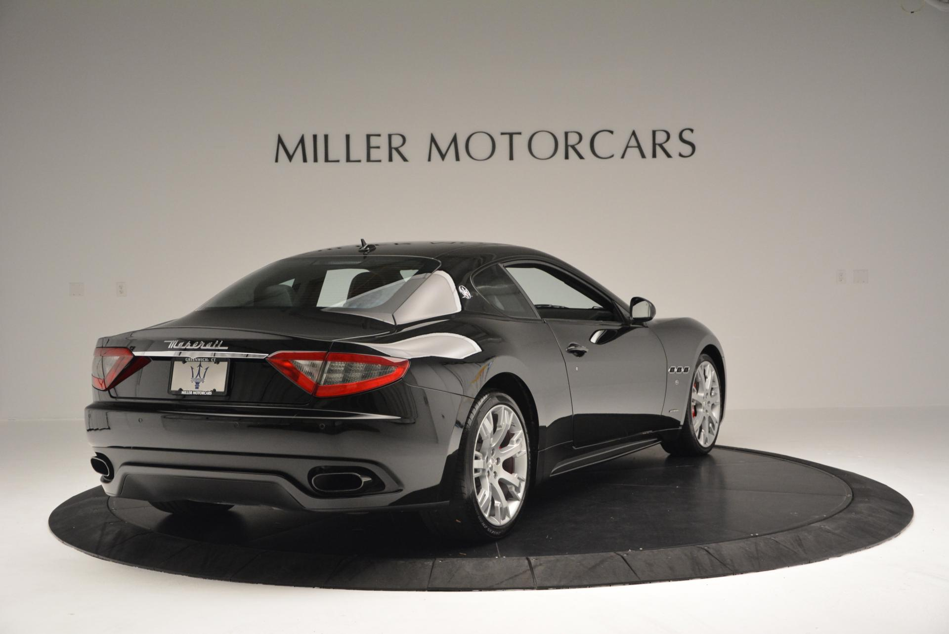 Used 2013 Maserati GranTurismo Sport For Sale In Westport, CT 46_p7