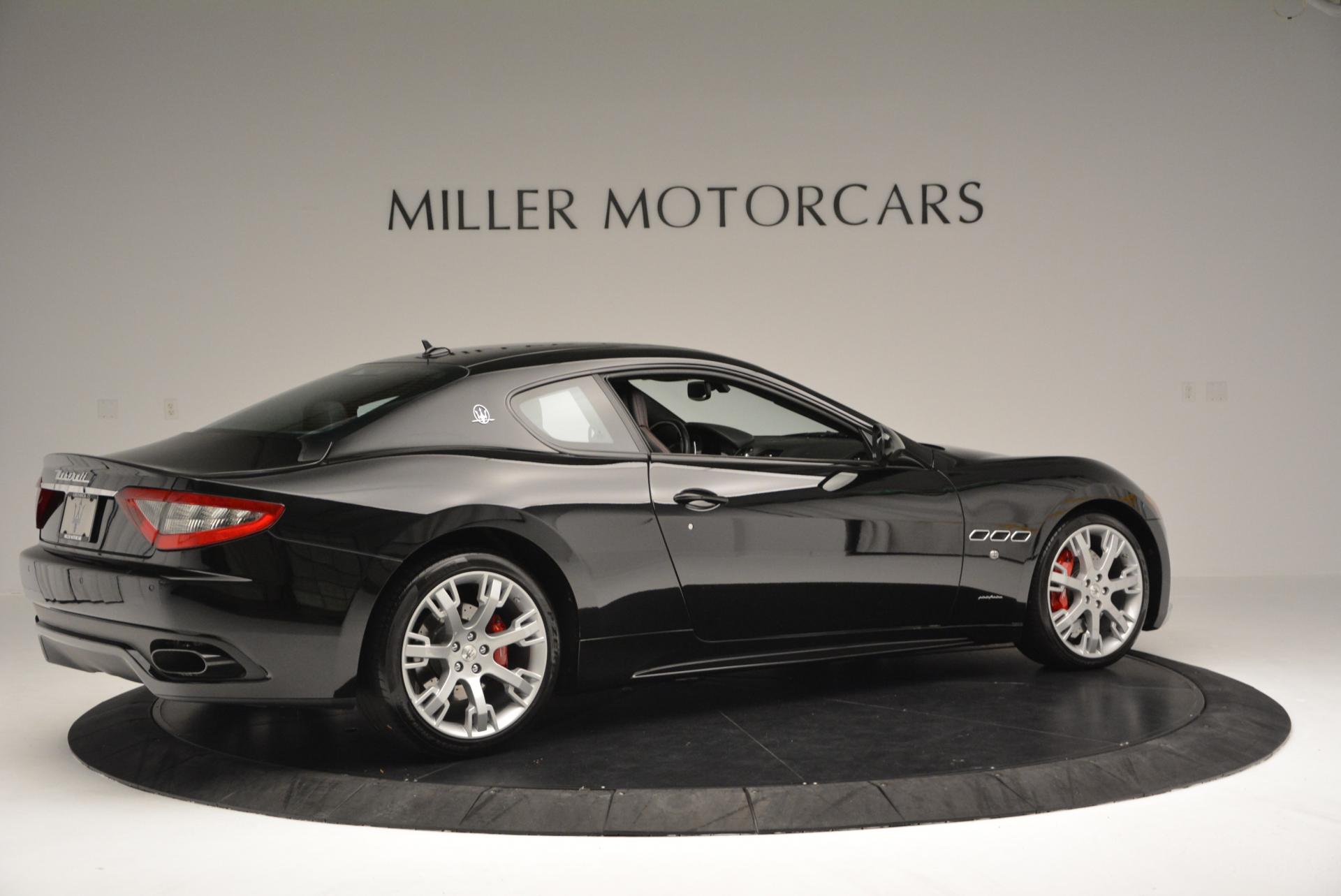 Used 2013 Maserati GranTurismo Sport For Sale In Westport, CT 46_p8