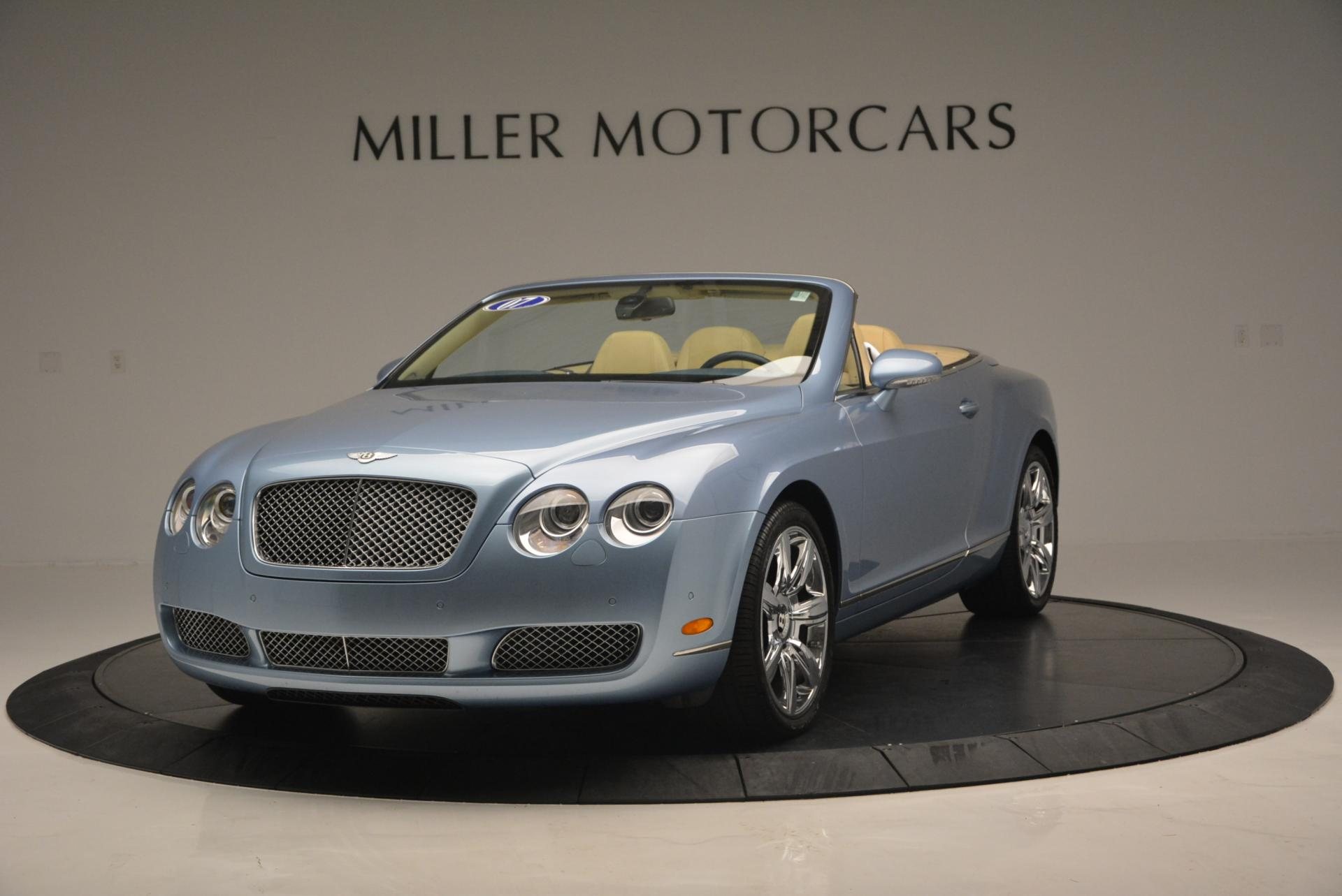 Used 2007 Bentley Continental GTC  For Sale In Westport, CT 495_main