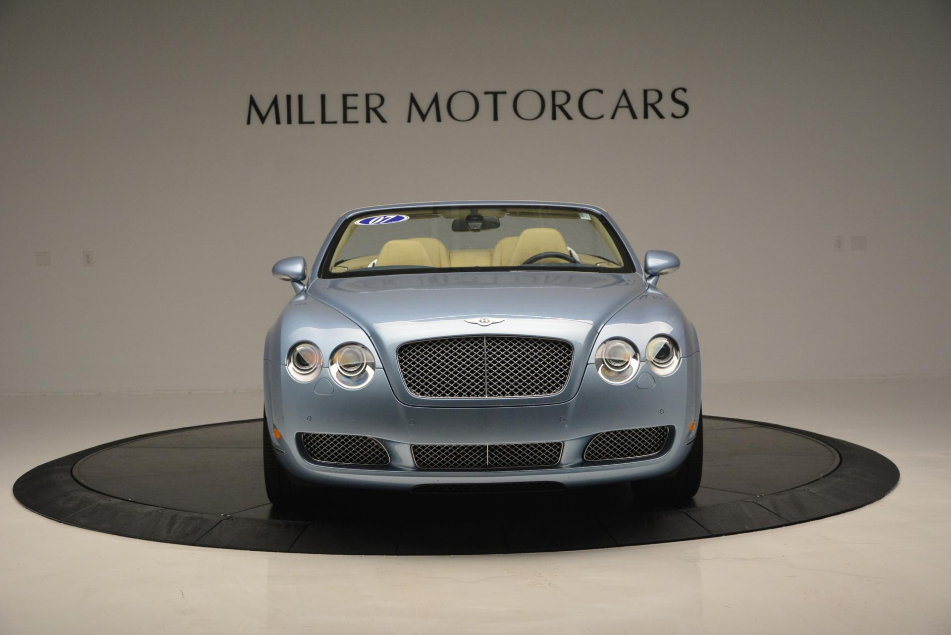 Used 2007 Bentley Continental GTC  For Sale In Westport, CT 495_p11