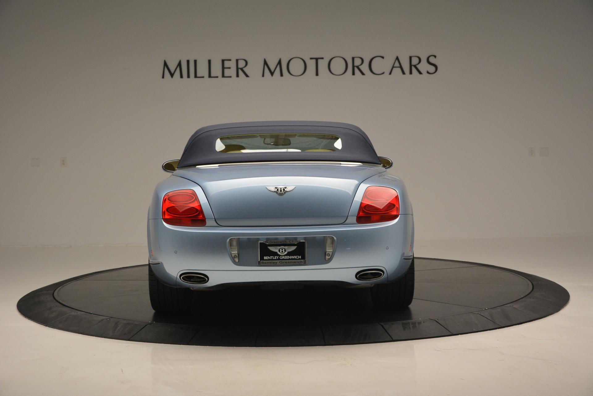 Used 2007 Bentley Continental GTC  For Sale In Westport, CT 495_p18