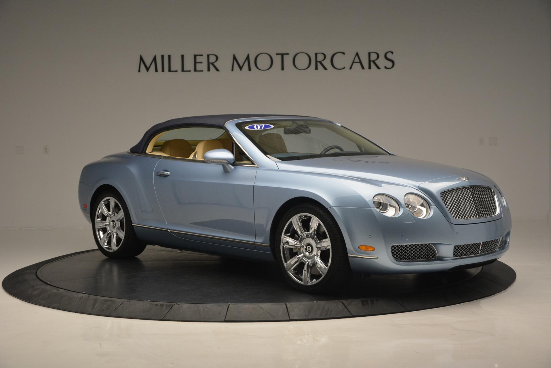 Used 2007 Bentley Continental GTC  For Sale In Westport, CT 495_p22