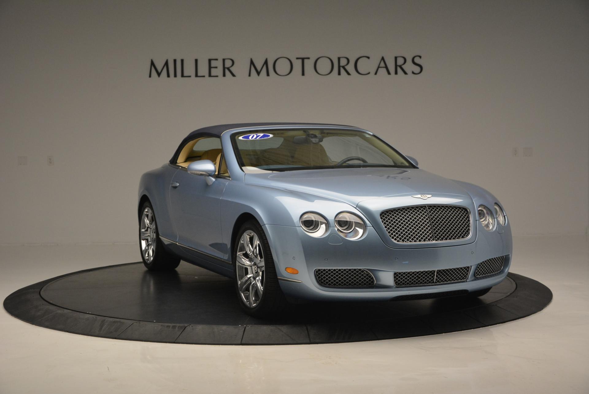 Used 2007 Bentley Continental GTC  For Sale In Westport, CT 495_p23