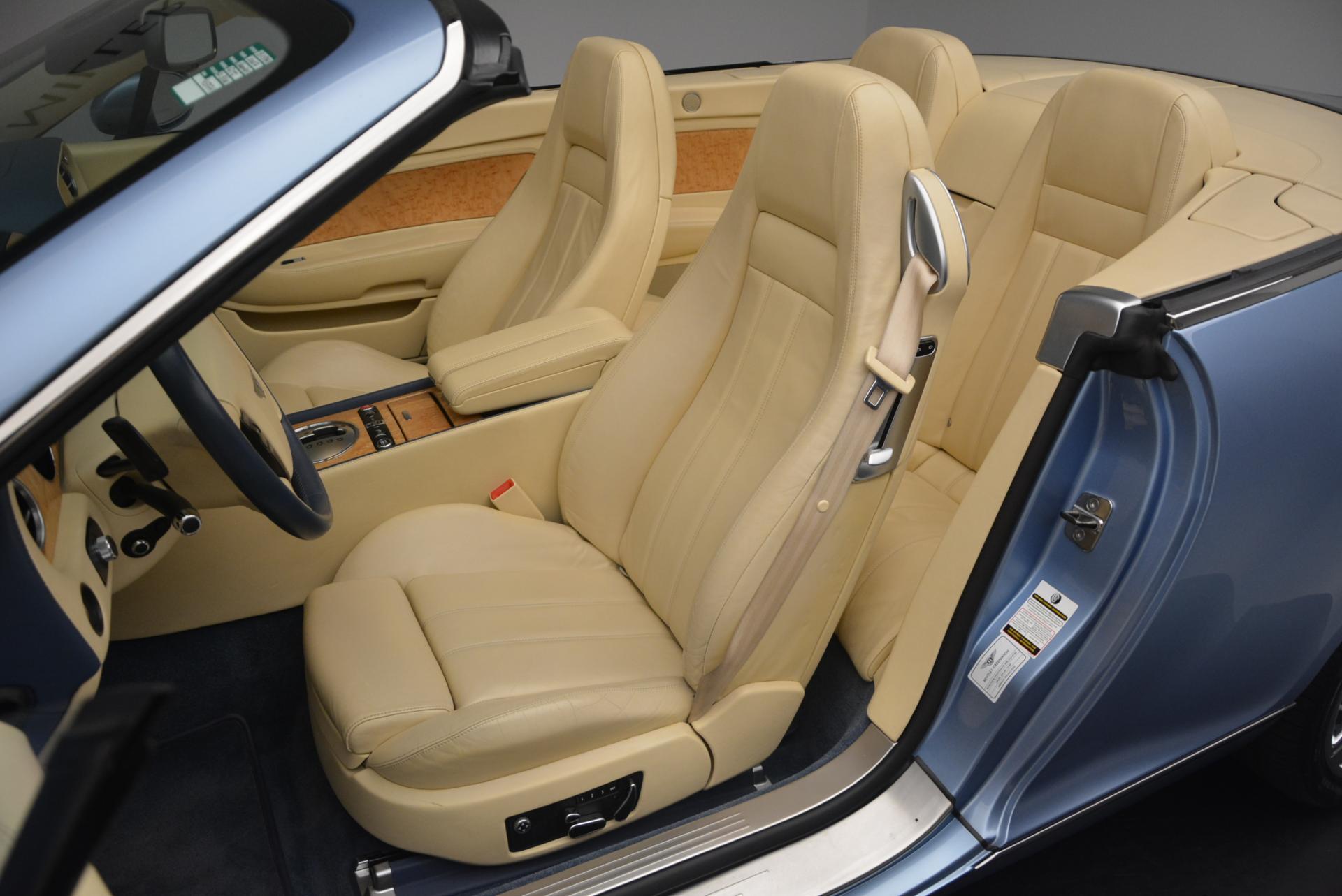 Used 2007 Bentley Continental GTC  For Sale In Westport, CT 495_p33