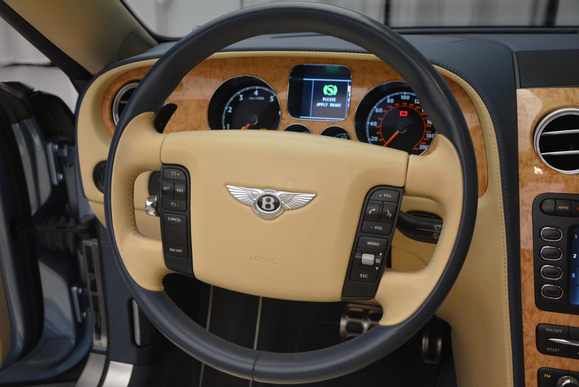 Used 2007 Bentley Continental GTC  For Sale In Westport, CT 495_p40