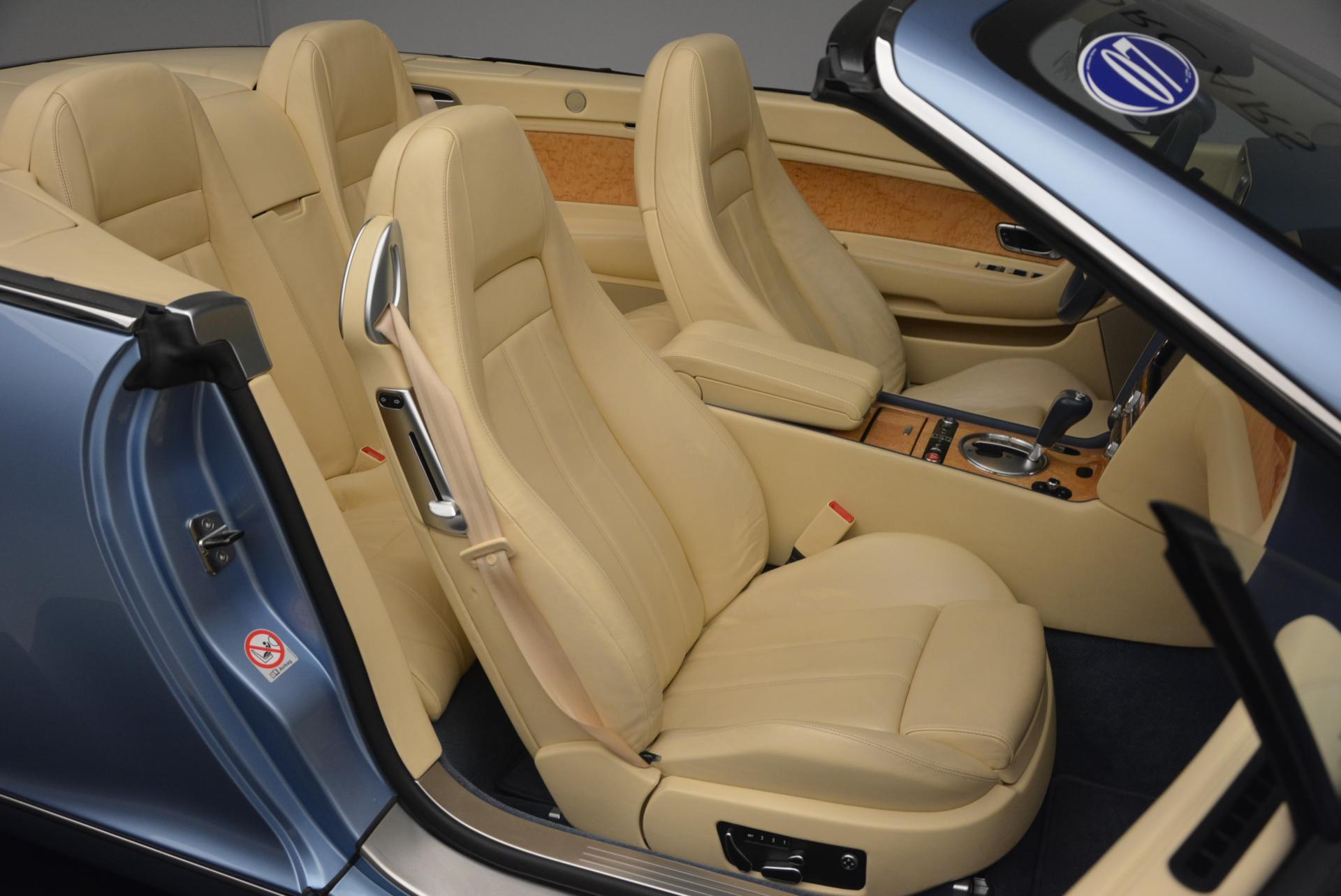 Used 2007 Bentley Continental GTC  For Sale In Westport, CT 495_p48