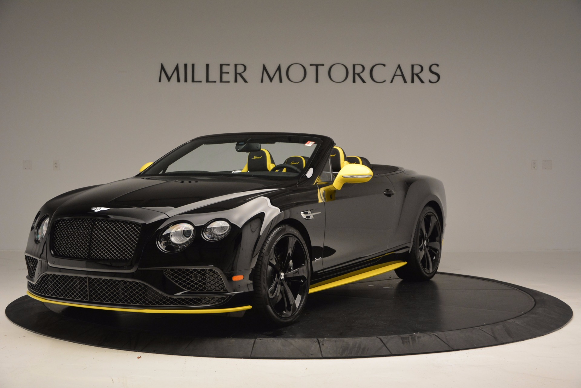 New 2017 Bentley Continental GT Speed Black Edition Convertible  For Sale In Westport, CT 496_main