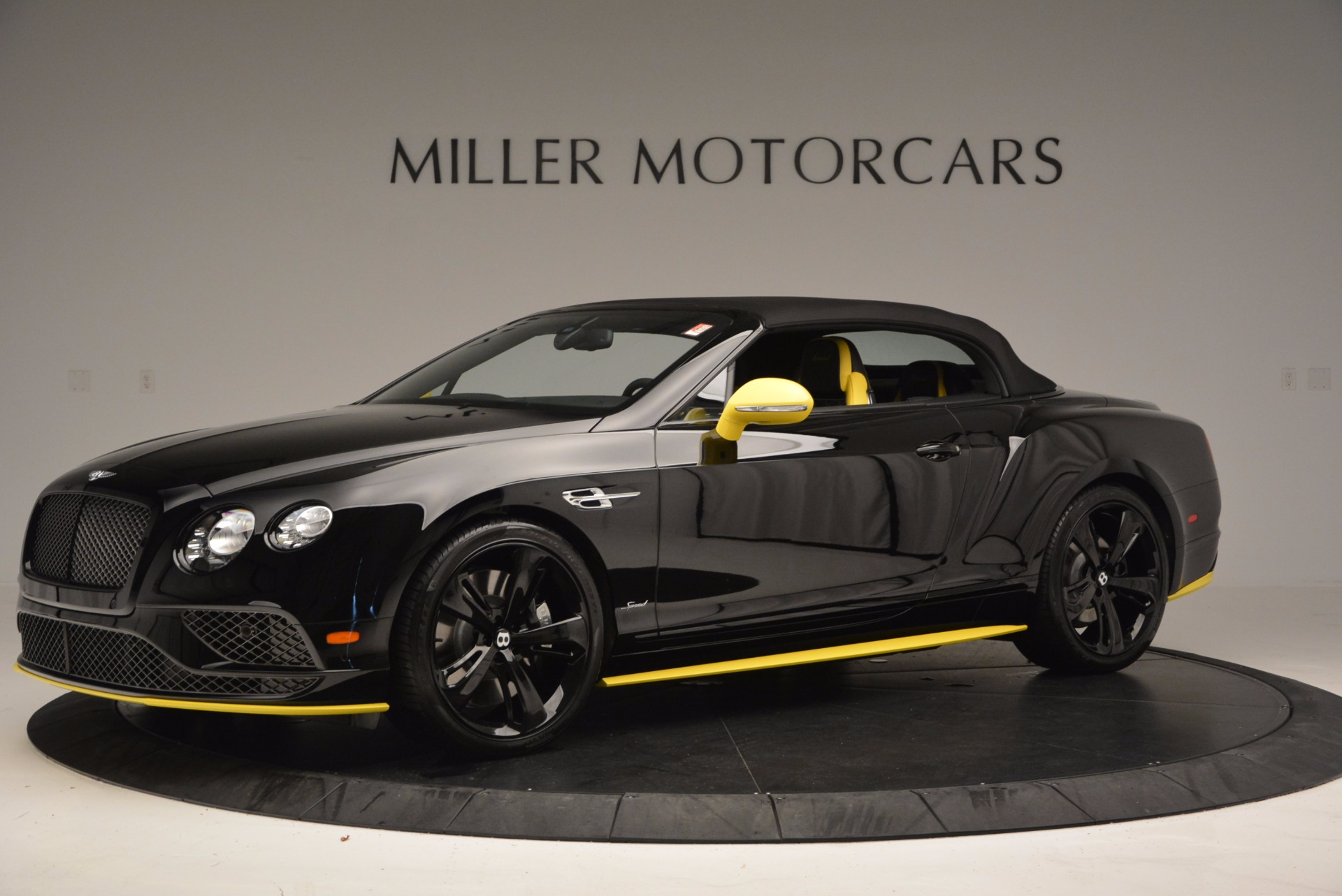 New 2017 Bentley Continental GT Speed Black Edition Convertible  For Sale In Westport, CT 496_p11