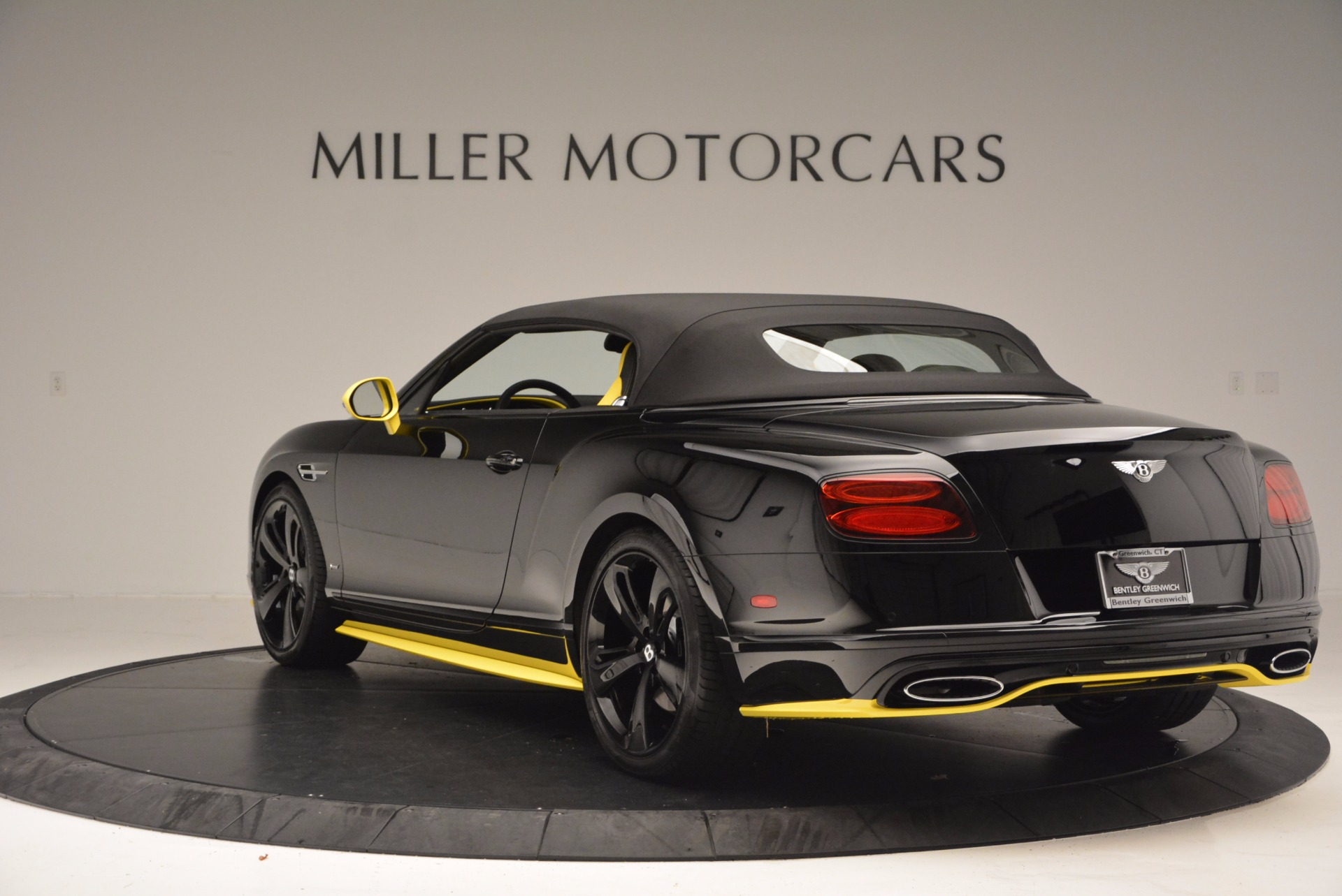 New 2017 Bentley Continental GT Speed Black Edition Convertible  For Sale In Westport, CT 496_p14