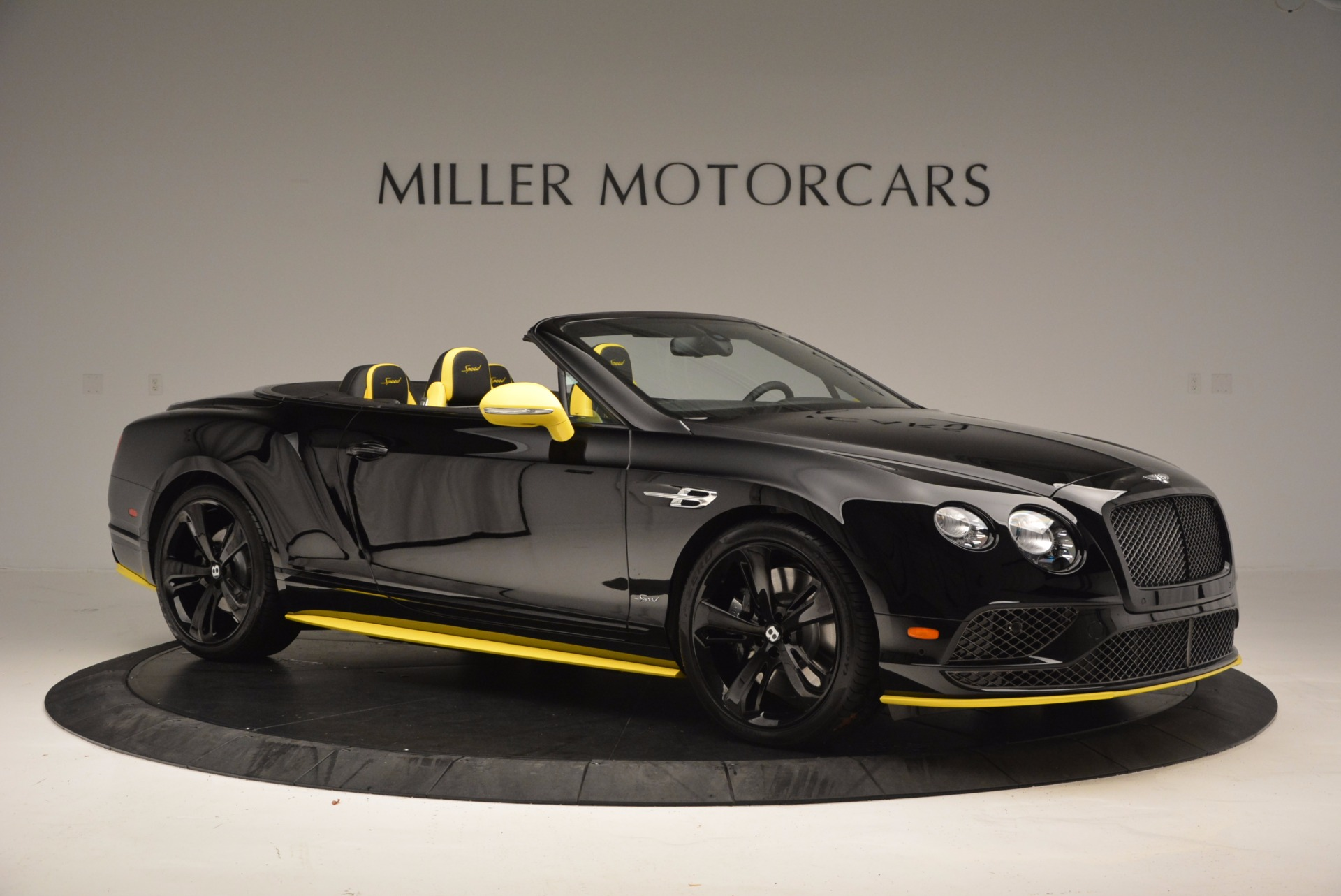 New 2017 Bentley Continental GT Speed Black Edition Convertible  For Sale In Westport, CT 496_p7