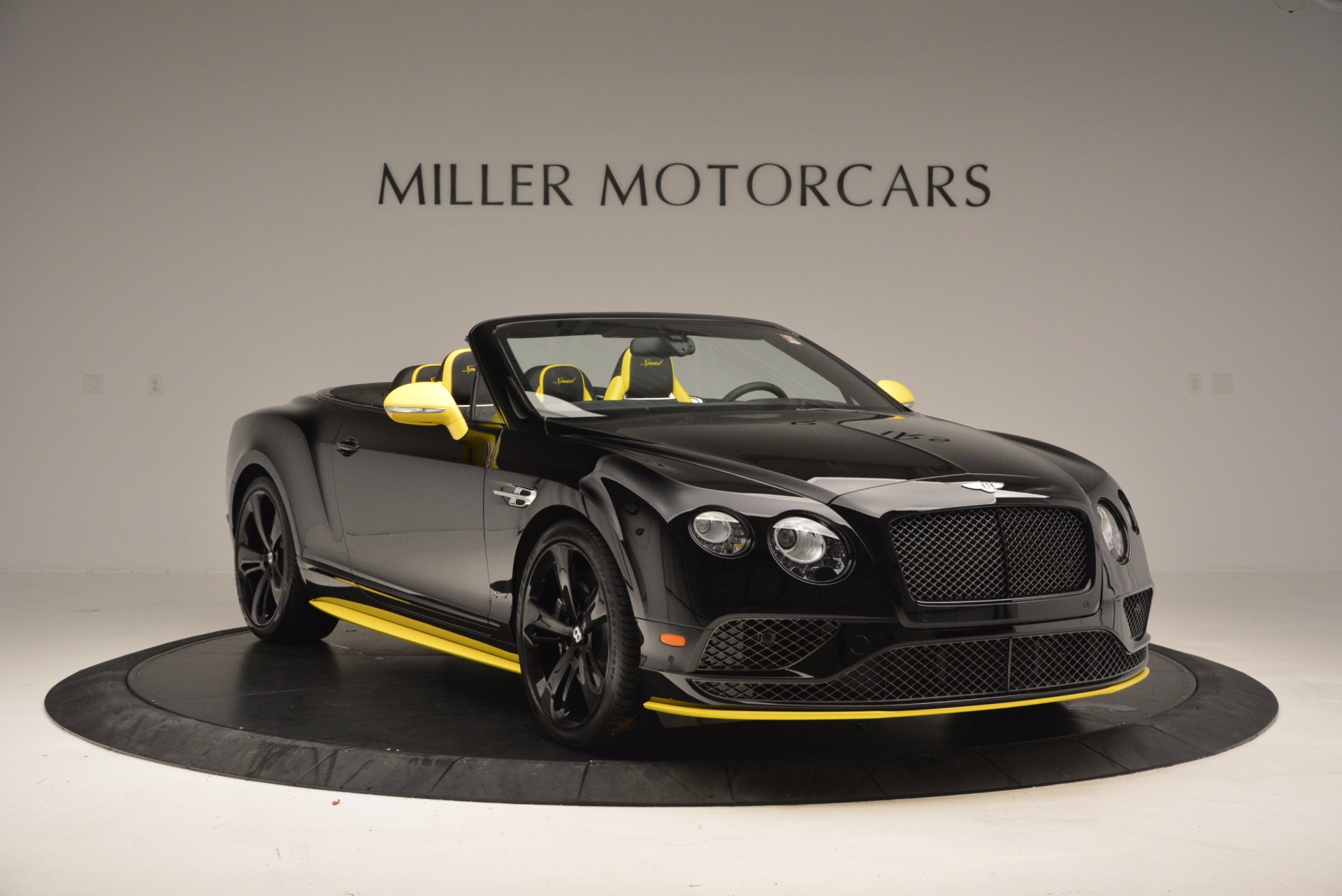 New 2017 Bentley Continental GT Speed Black Edition Convertible  For Sale In Westport, CT 496_p8