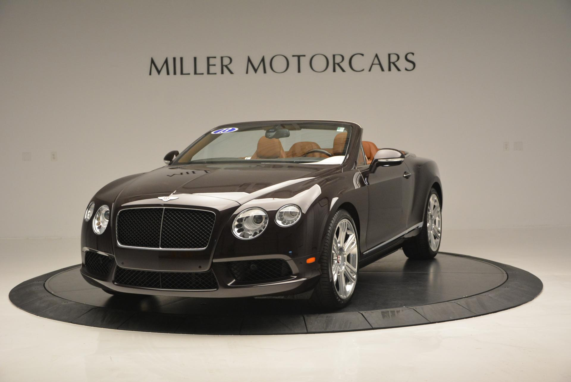 Used 2013 Bentley Continental GTC V8  For Sale In Westport, CT 498_main