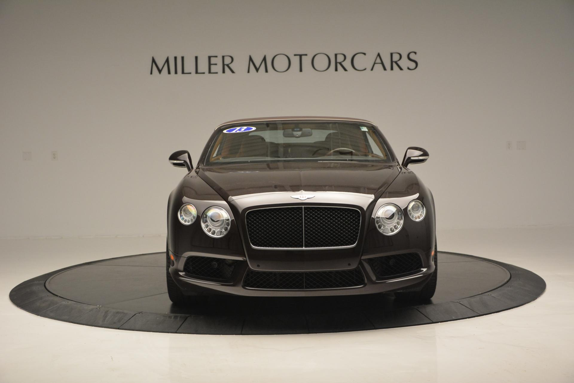 Used 2013 Bentley Continental GTC V8  For Sale In Westport, CT 498_p13