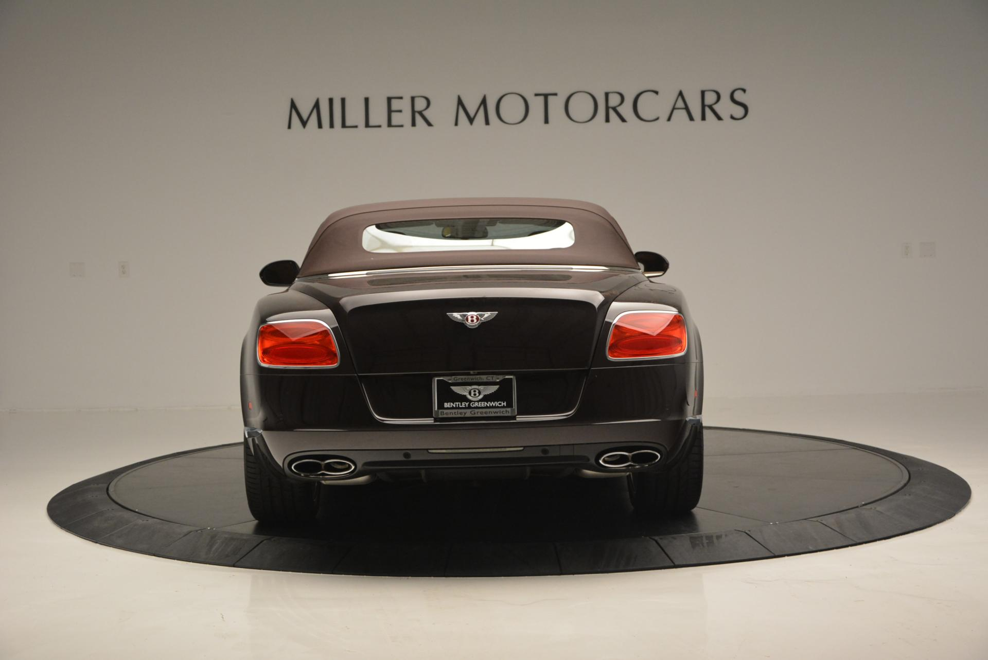 Used 2013 Bentley Continental GTC V8  For Sale In Westport, CT 498_p19