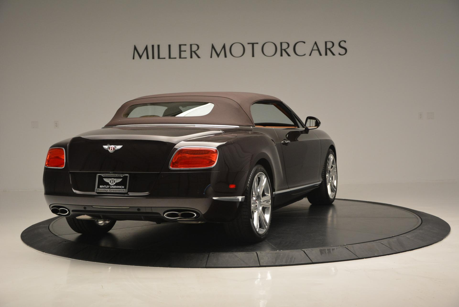 Used 2013 Bentley Continental GTC V8  For Sale In Westport, CT 498_p20