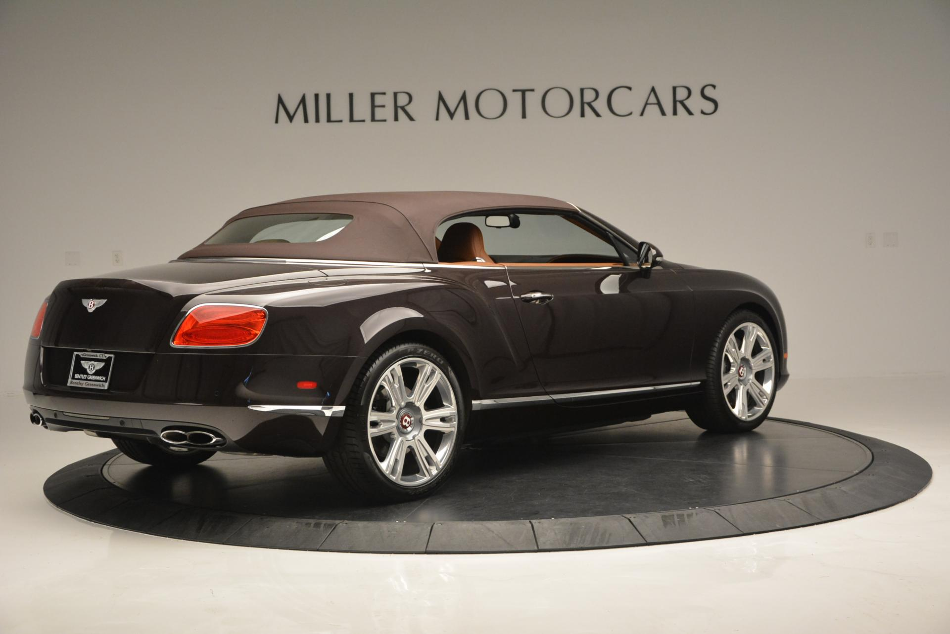 Used 2013 Bentley Continental GTC V8  For Sale In Westport, CT 498_p21