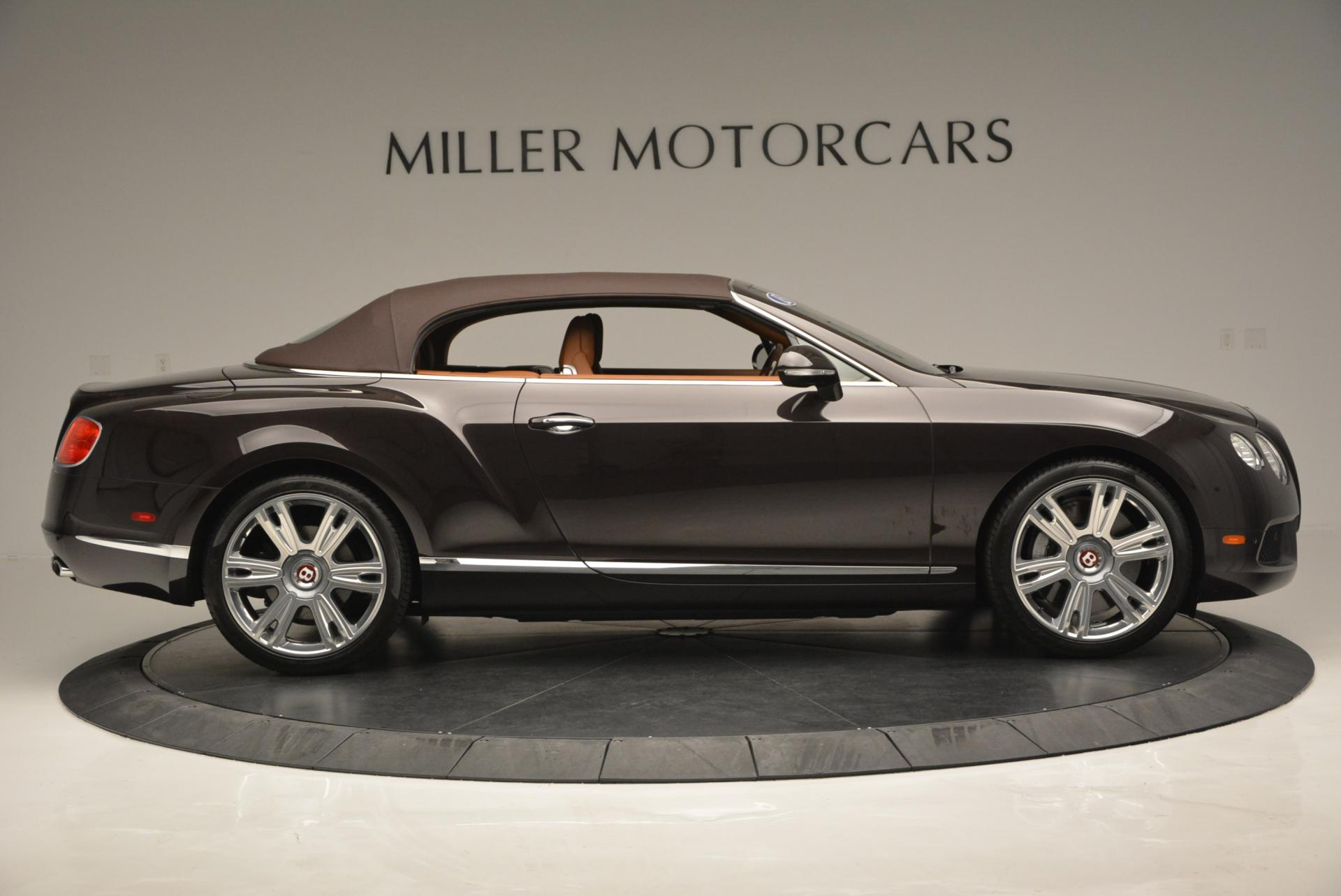 Used 2013 Bentley Continental GTC V8  For Sale In Westport, CT 498_p22