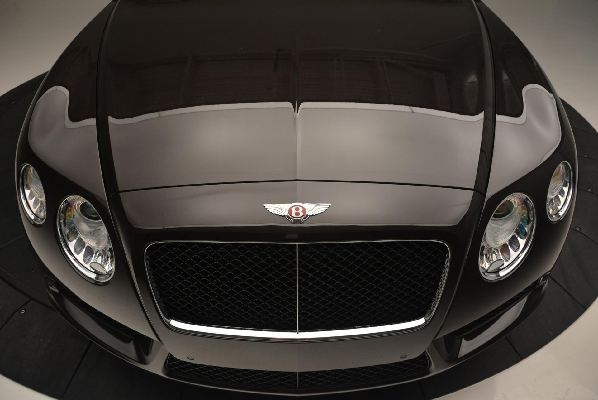 Used 2013 Bentley Continental GTC V8  For Sale In Westport, CT 498_p25