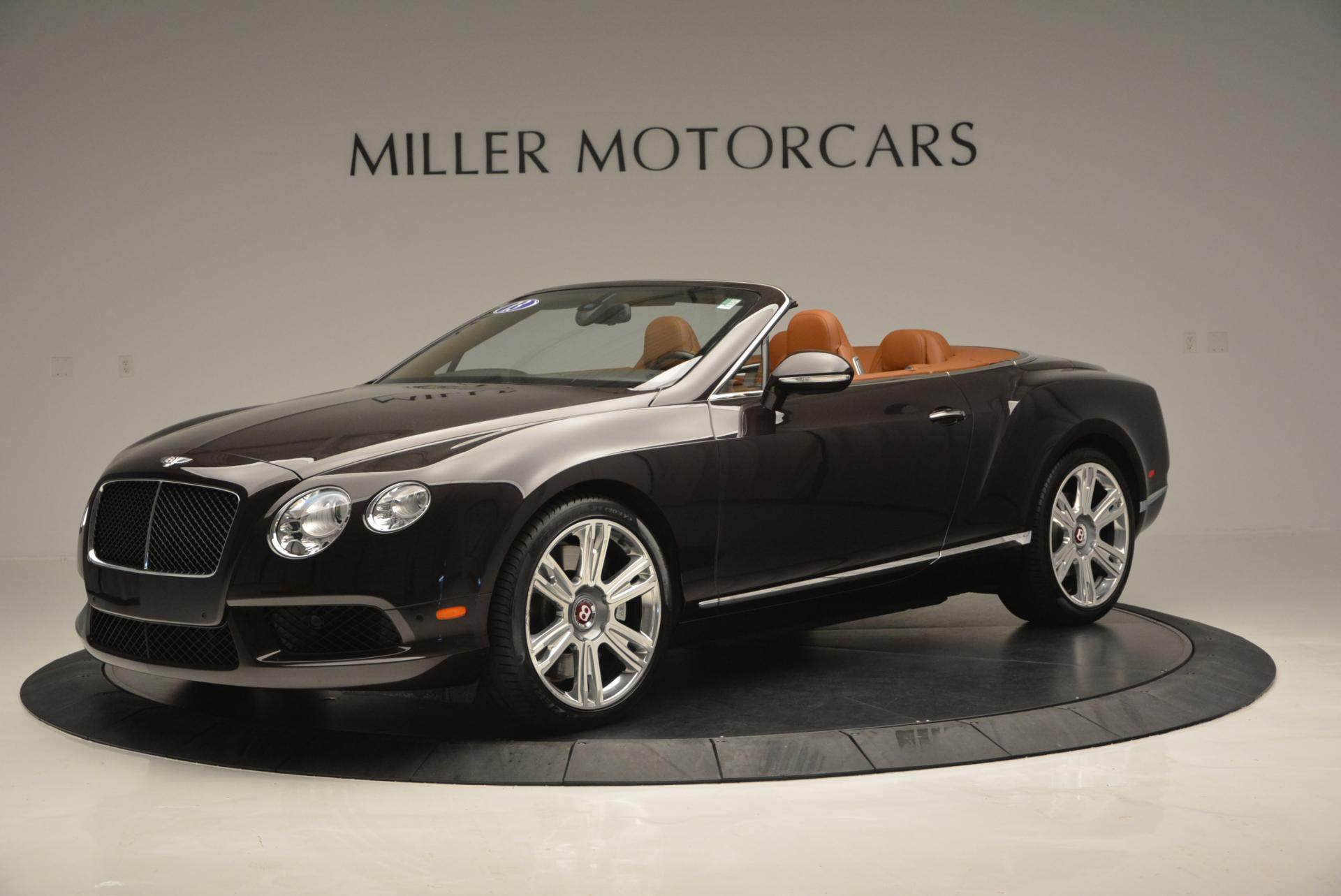 Used 2013 Bentley Continental GTC V8  For Sale In Westport, CT 498_p2