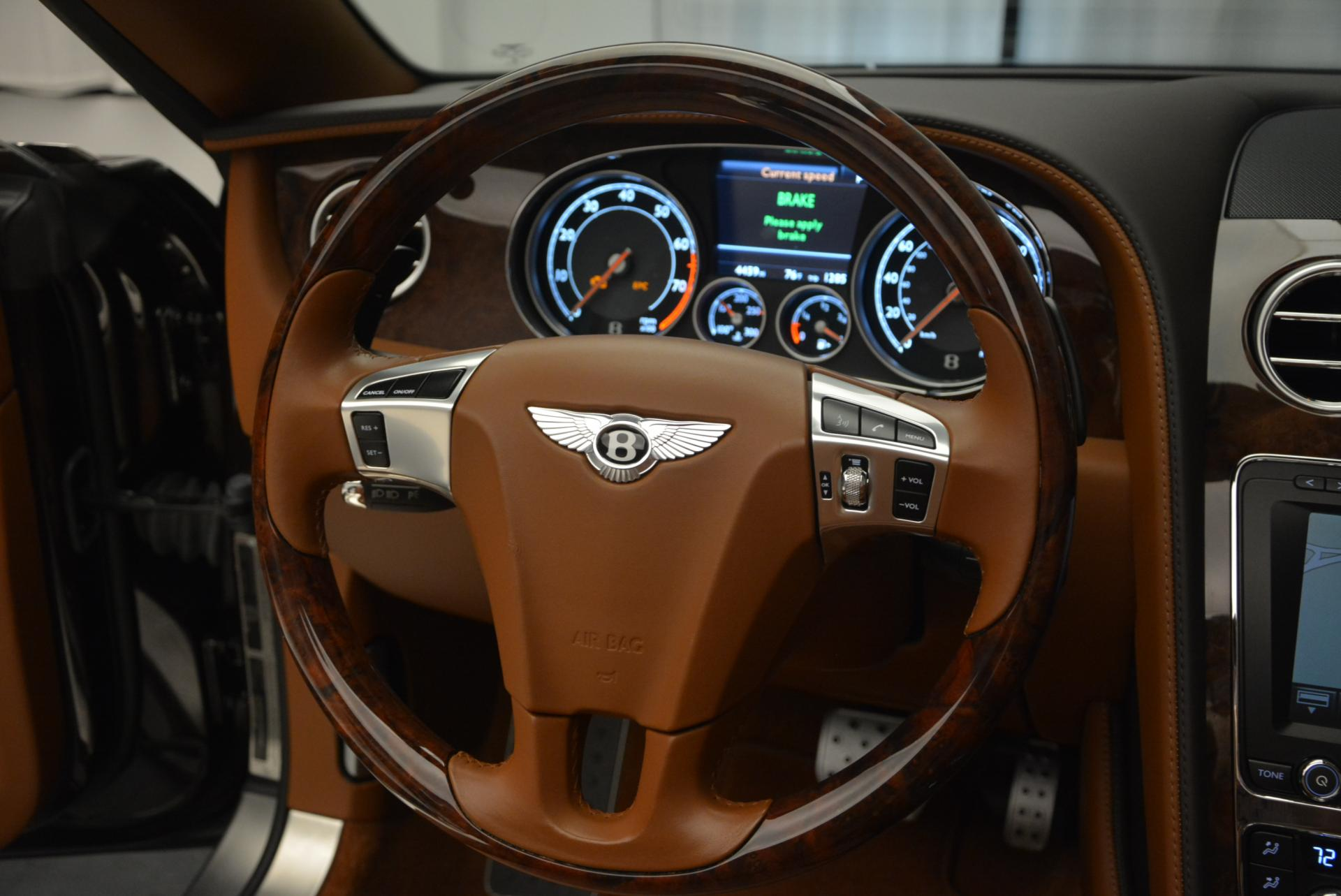 Used 2013 Bentley Continental GTC V8  For Sale In Westport, CT 498_p40