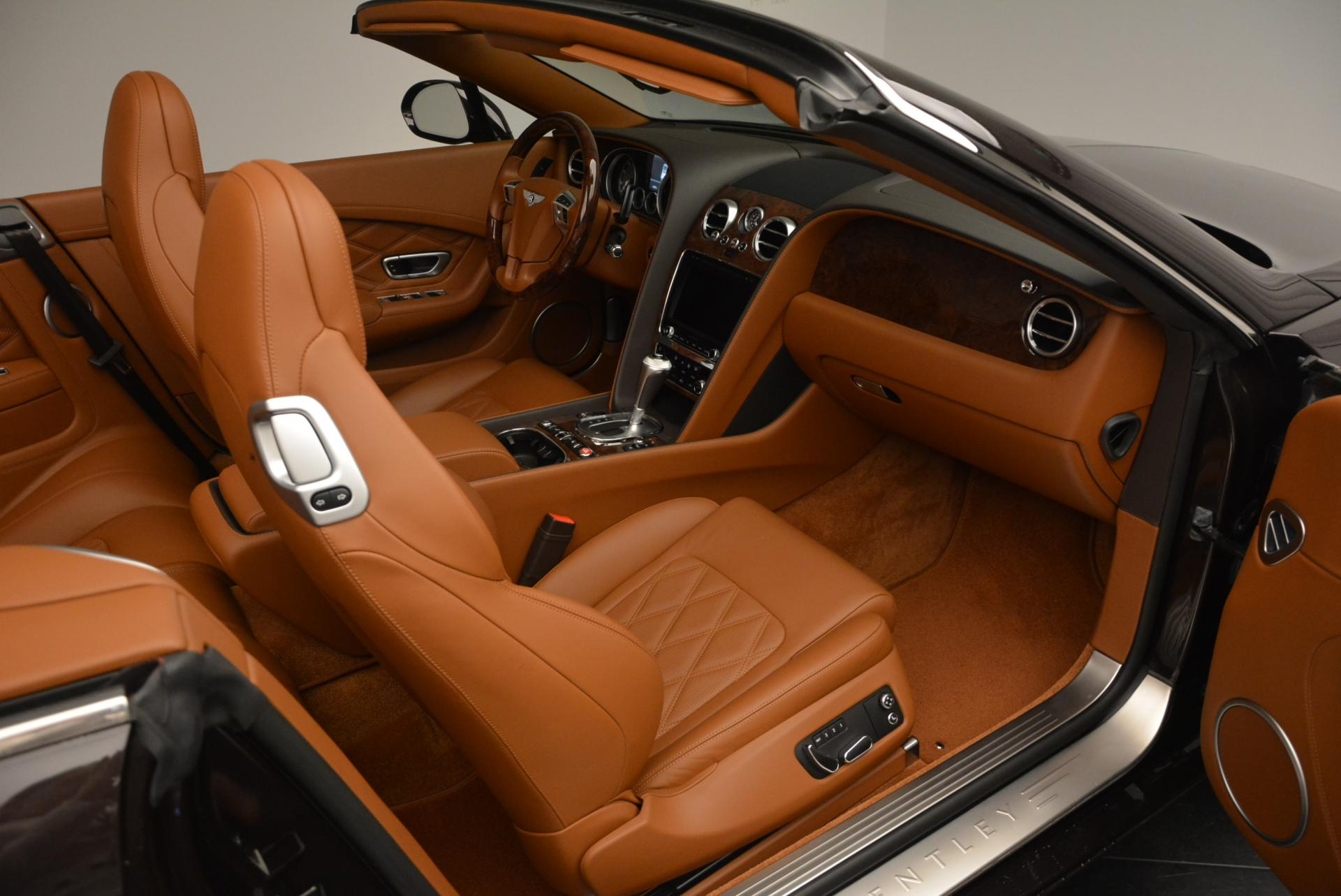 Used 2013 Bentley Continental GTC V8  For Sale In Westport, CT 498_p48