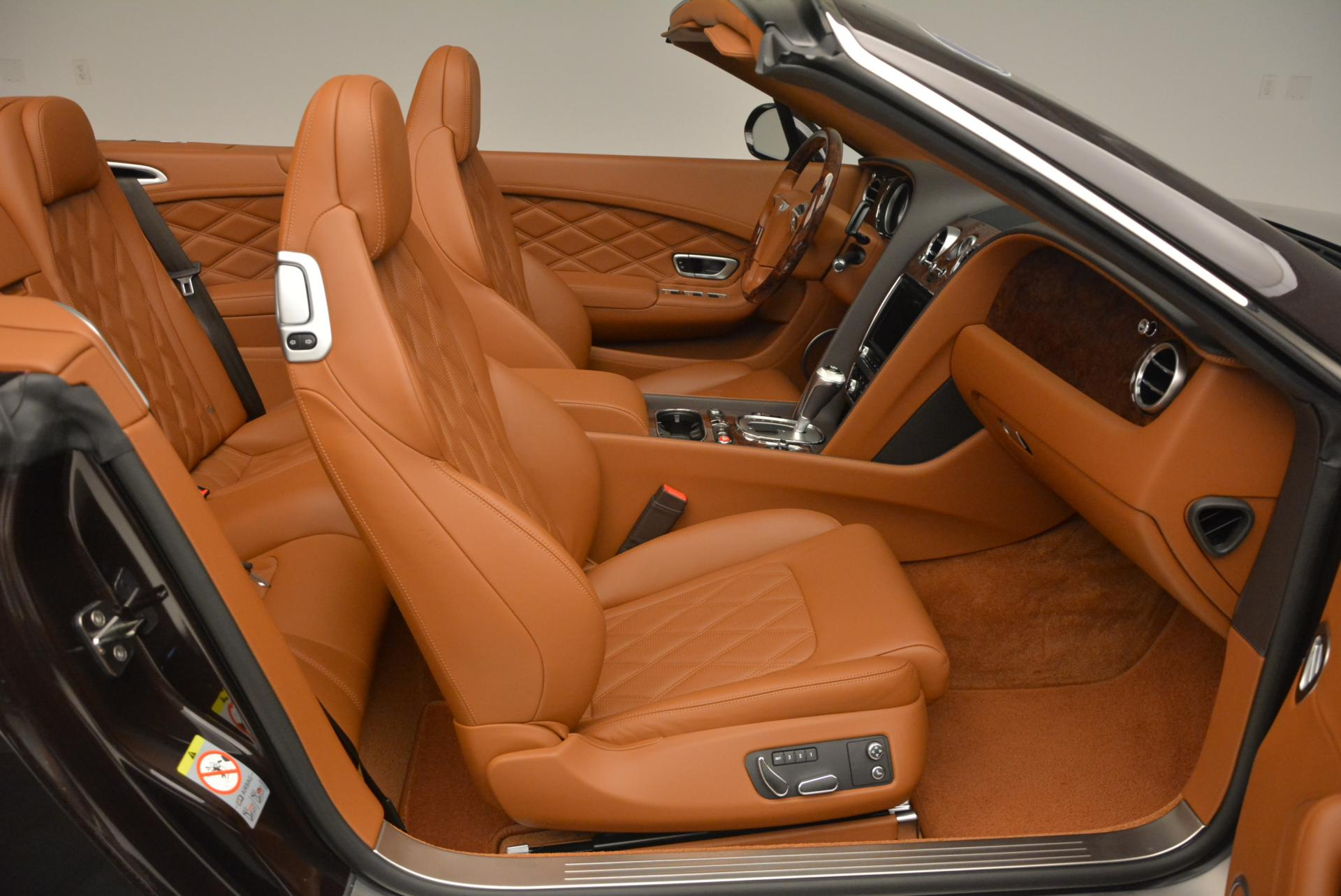 Used 2013 Bentley Continental GTC V8  For Sale In Westport, CT 498_p49
