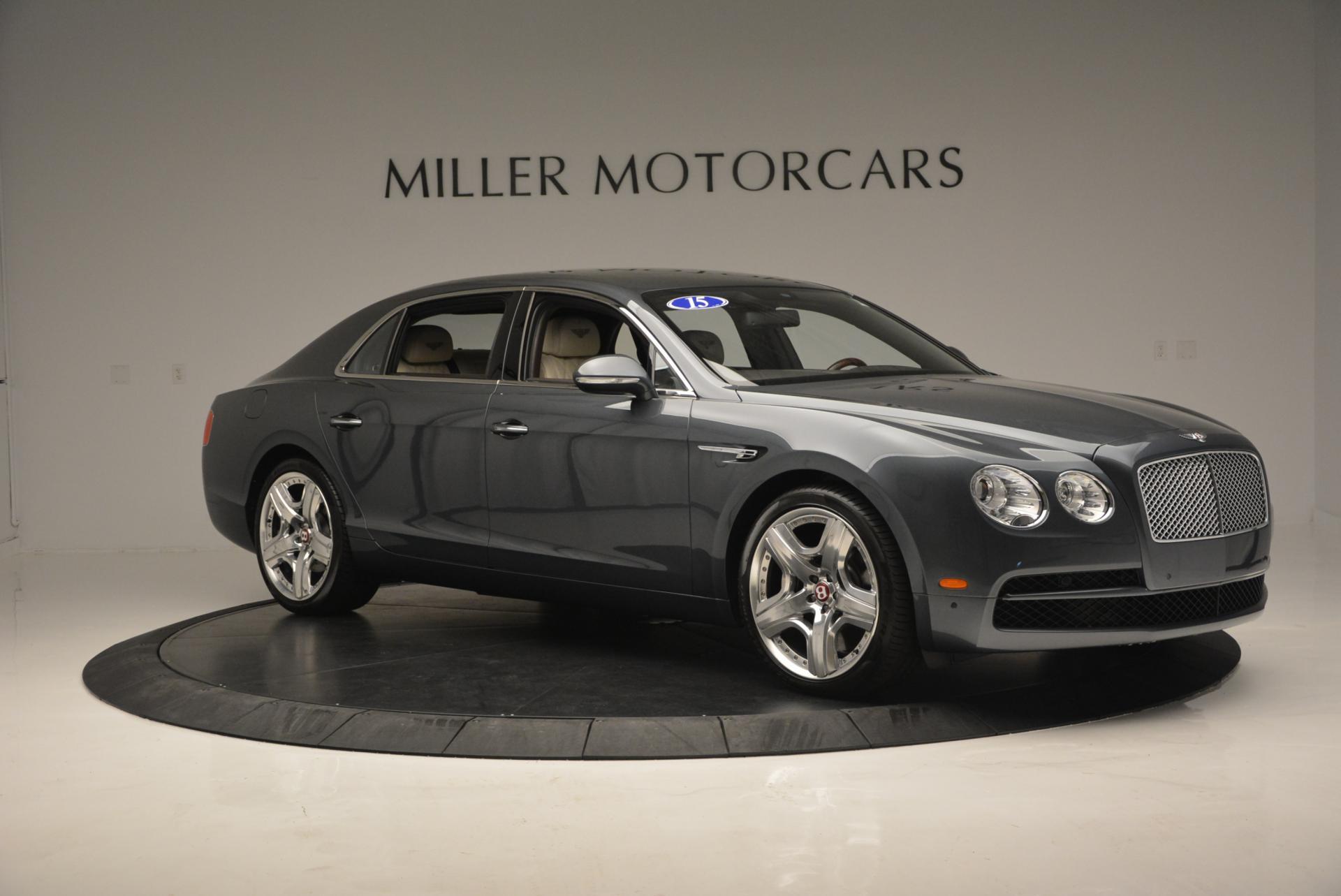 Used 2015 Bentley Flying Spur V8  For Sale In Westport, CT 509_p11
