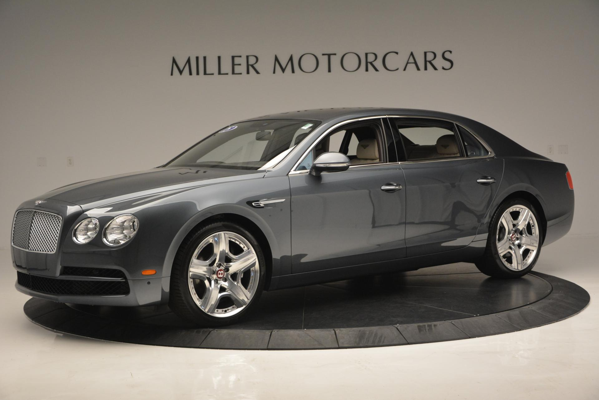 Used 2015 Bentley Flying Spur V8  For Sale In Westport, CT 509_p3