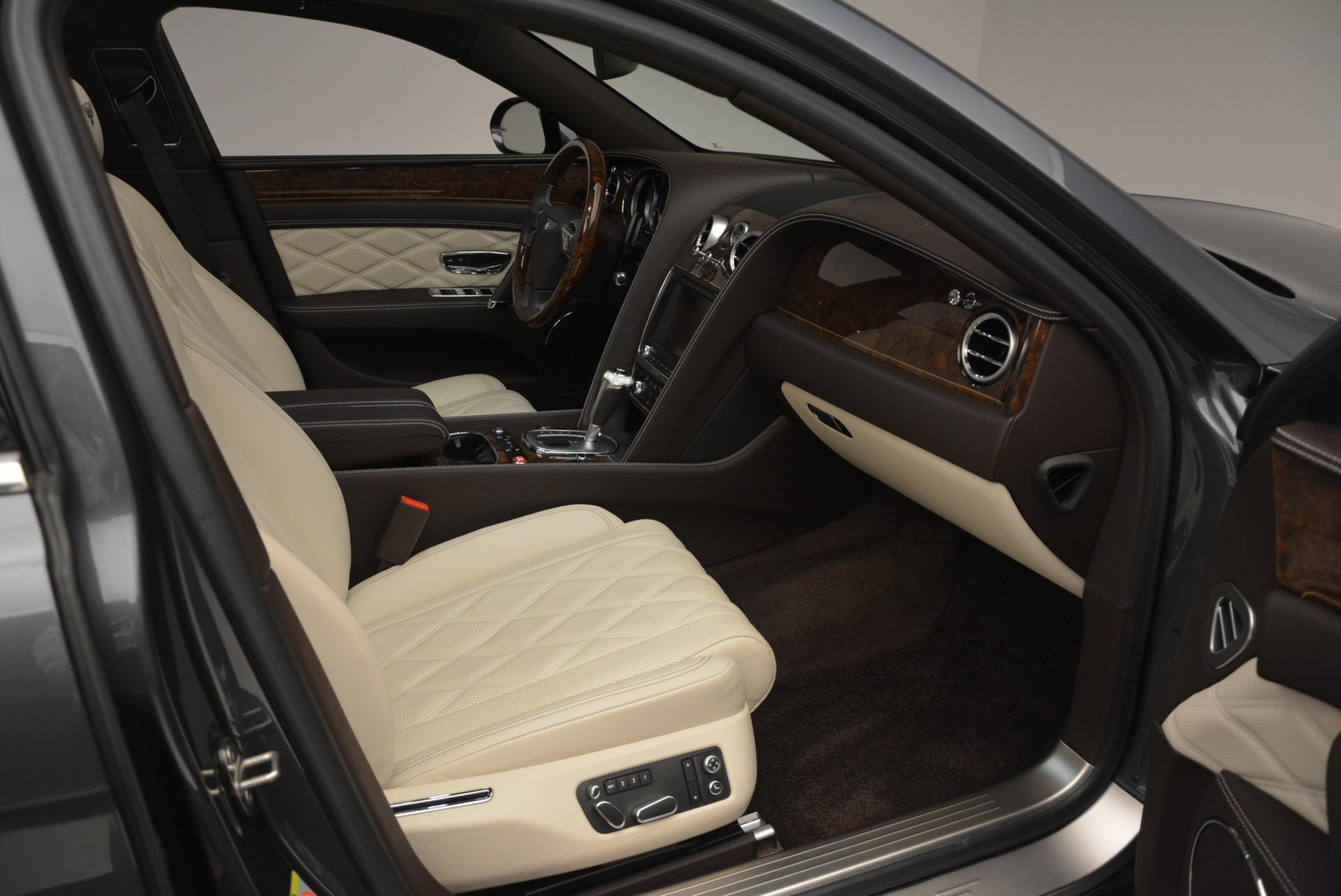 Used 2015 Bentley Flying Spur V8  For Sale In Westport, CT 509_p45