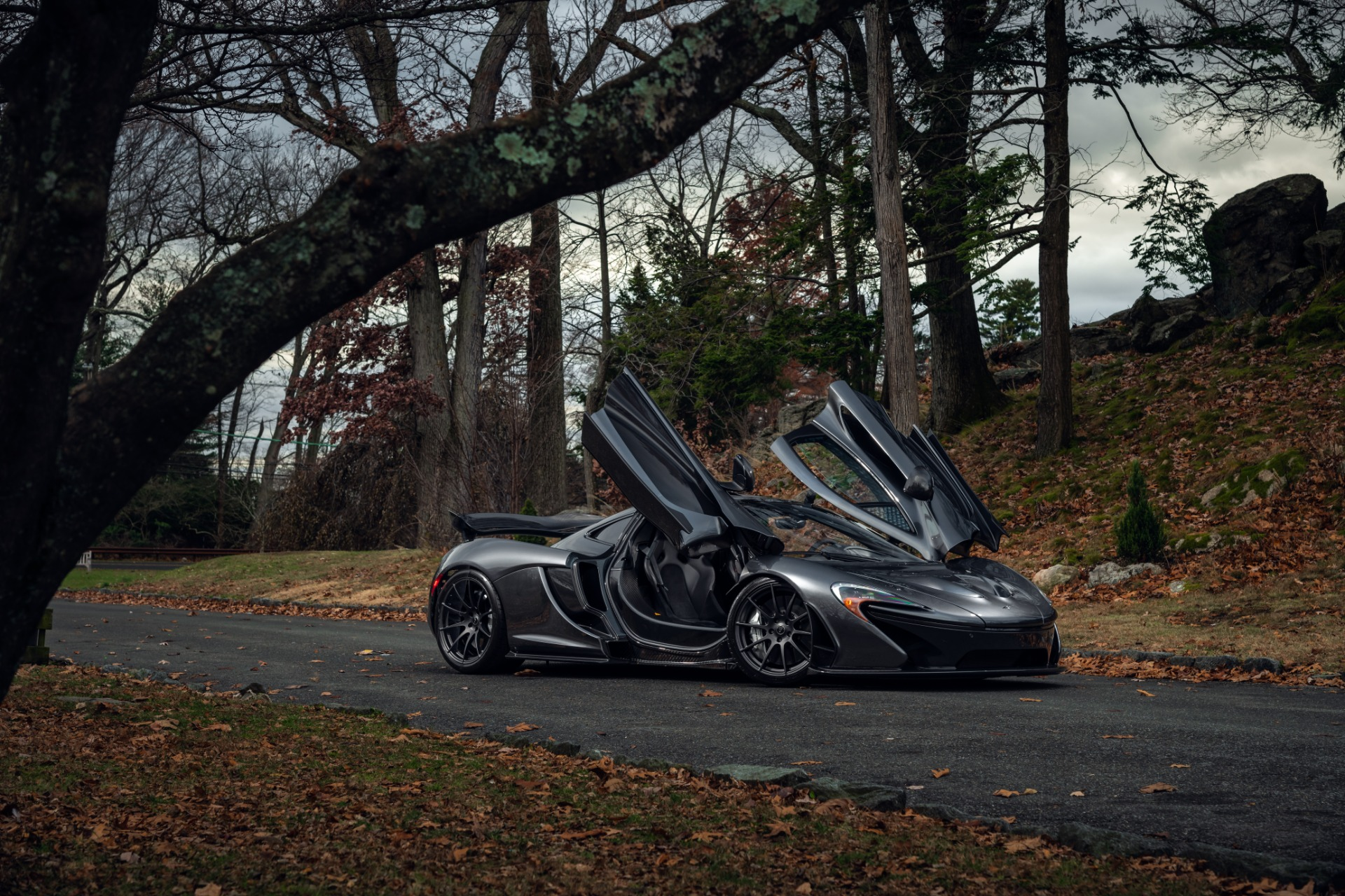 Used 2014 McLaren P1 Coupe For Sale In Westport, CT 513_p24