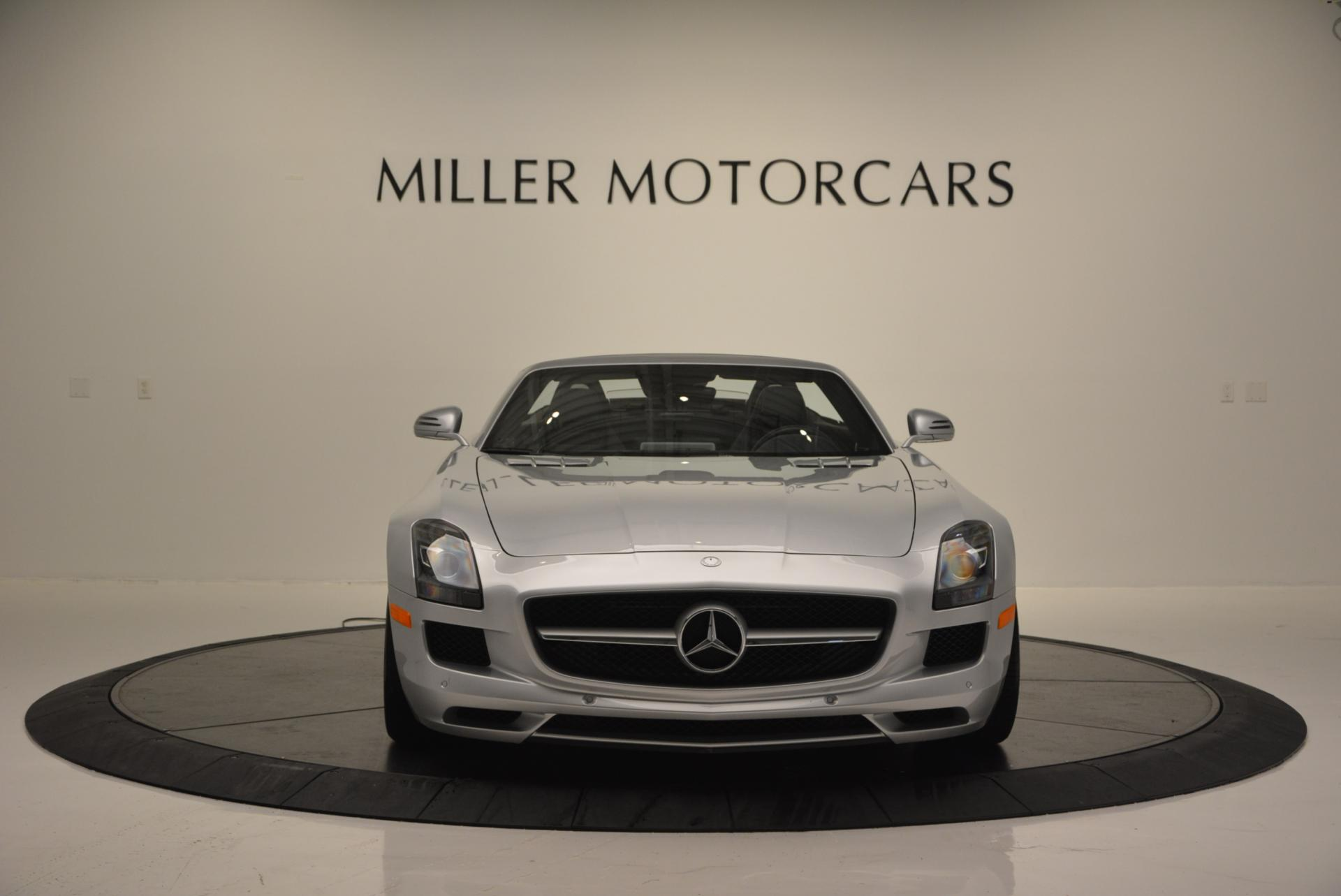 Used 2012 Mercedes Benz SLS AMG  For Sale In Westport, CT 517_p12