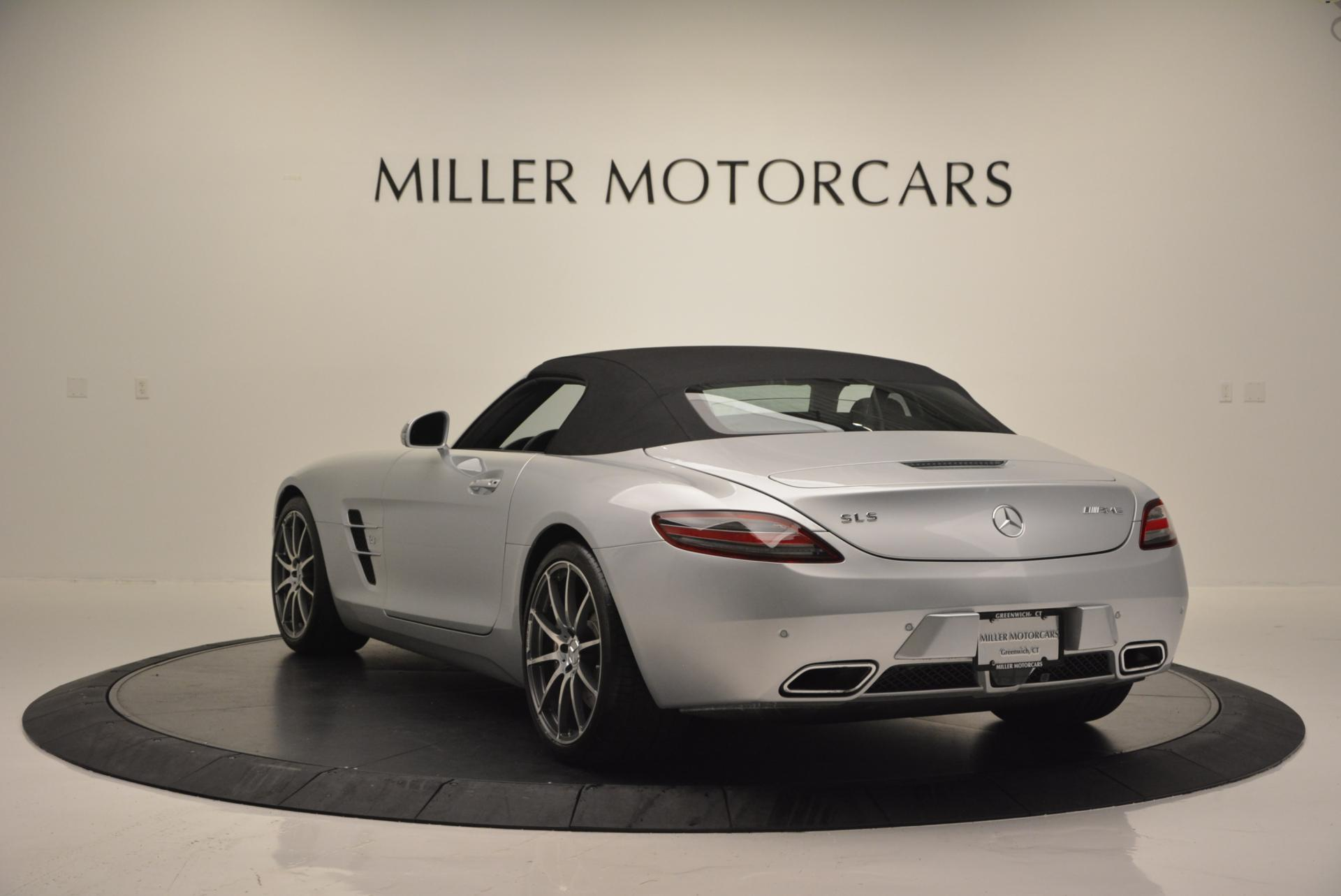 Used 2012 Mercedes Benz SLS AMG  For Sale In Westport, CT 517_p16