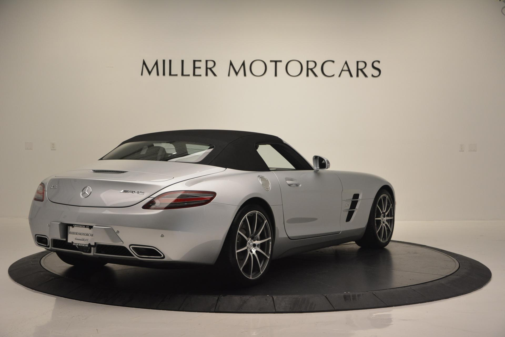 Used 2012 Mercedes Benz SLS AMG  For Sale In Westport, CT 517_p19