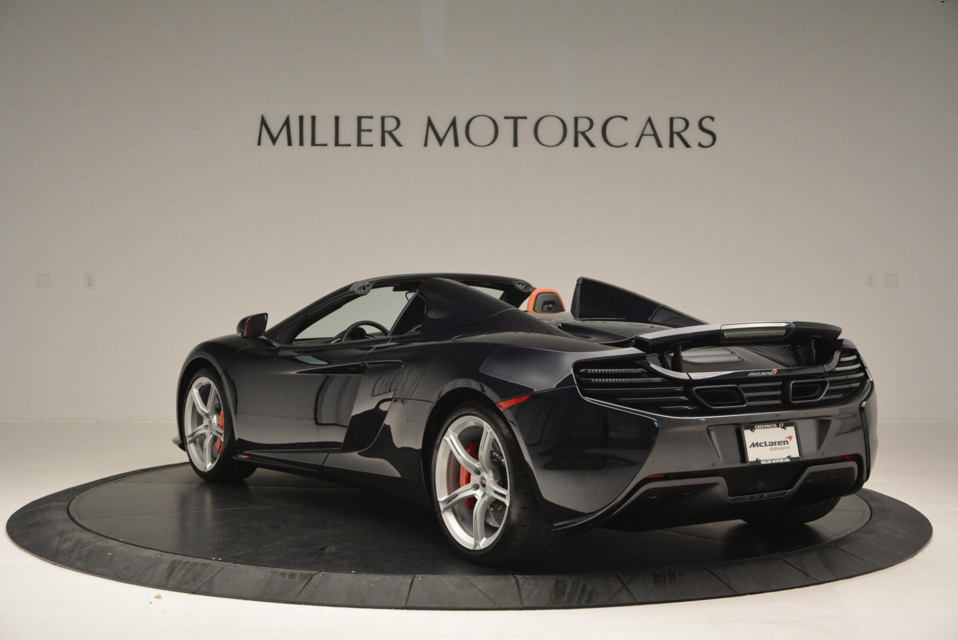 Used 2015 McLaren 650S Spider  For Sale In Westport, CT 518_p5