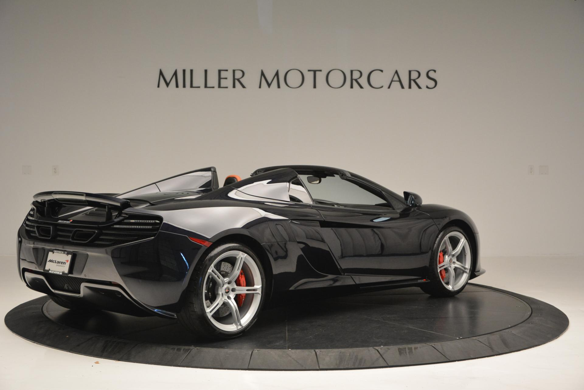 Used 2015 McLaren 650S Spider  For Sale In Westport, CT 518_p8