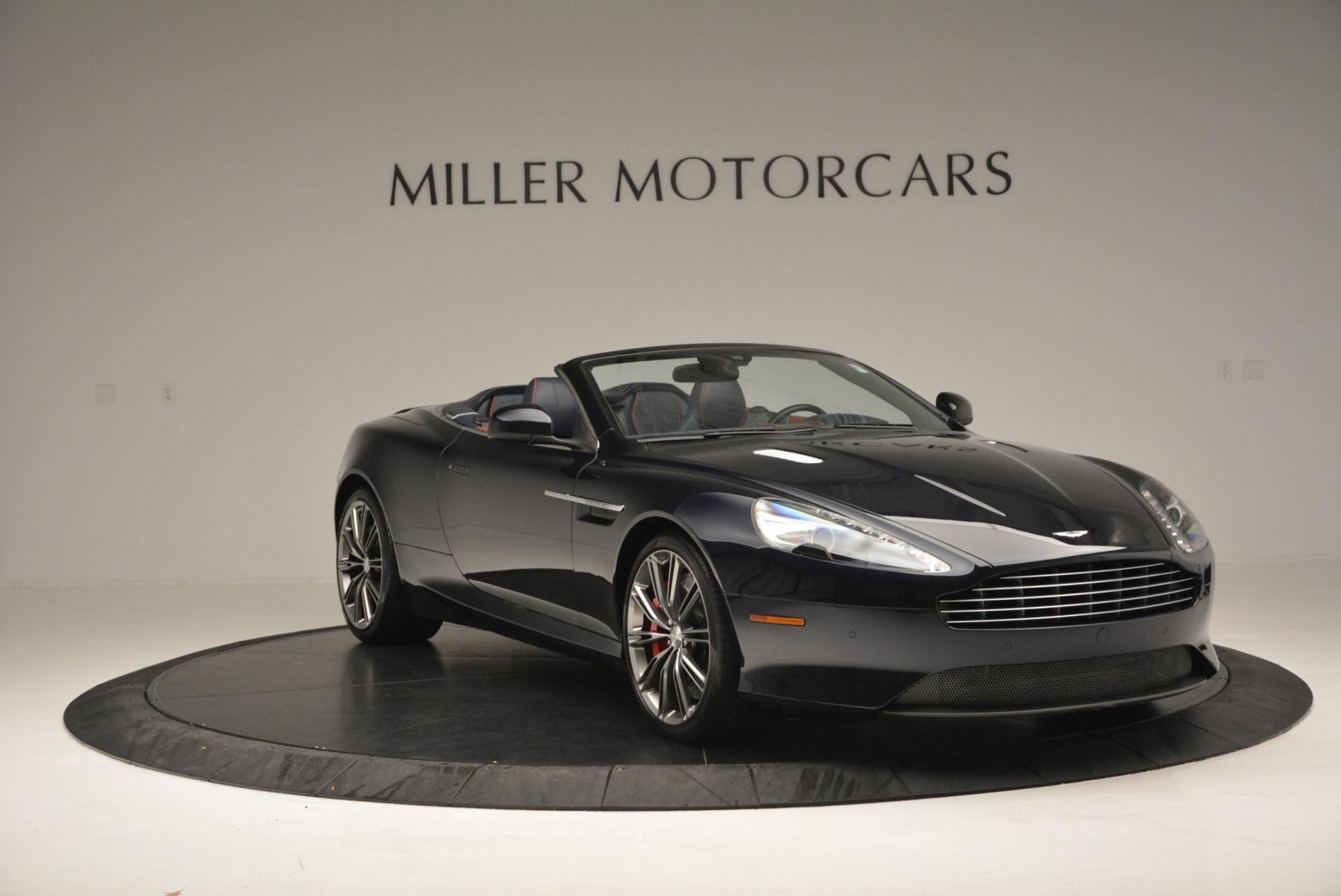 Used 2014 Aston Martin DB9 Volante For Sale In Westport, CT 519_p11
