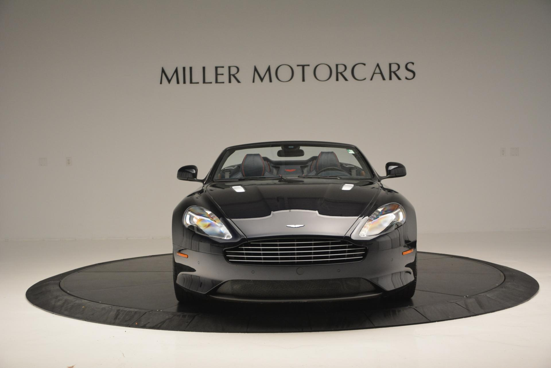 Used 2014 Aston Martin DB9 Volante For Sale In Westport, CT 519_p12