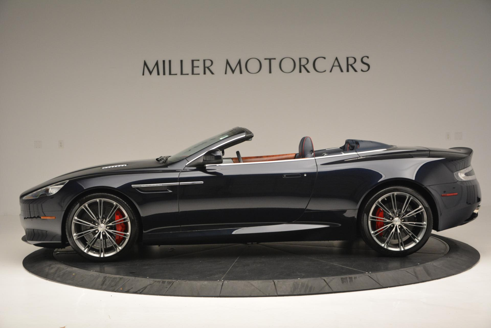 Used 2014 Aston Martin DB9 Volante For Sale In Westport, CT 519_p3